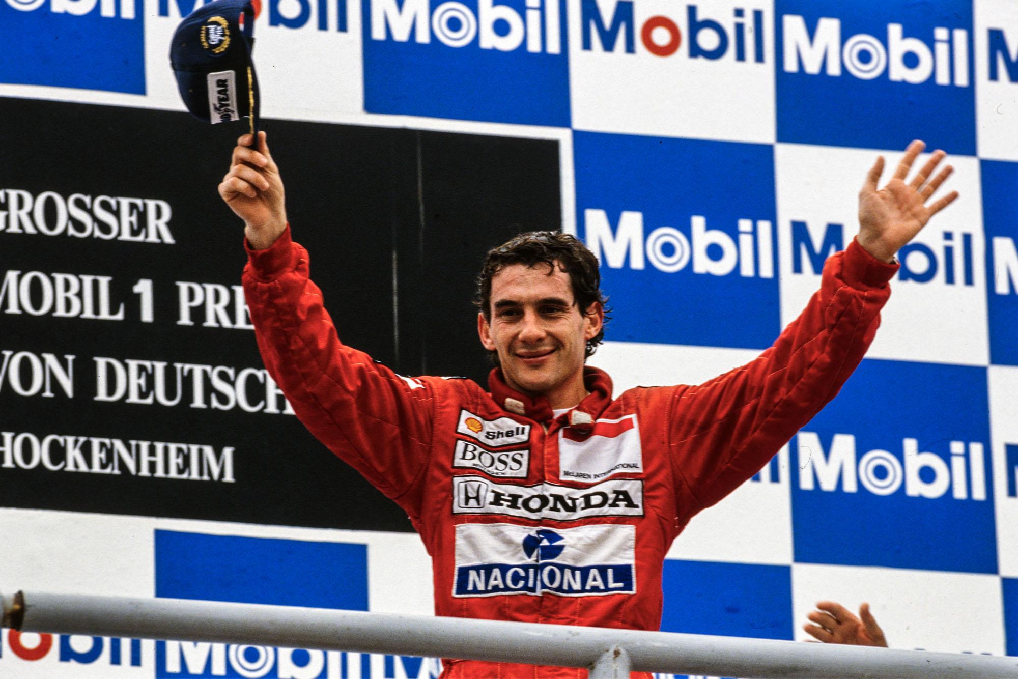 1989 GER GP podium