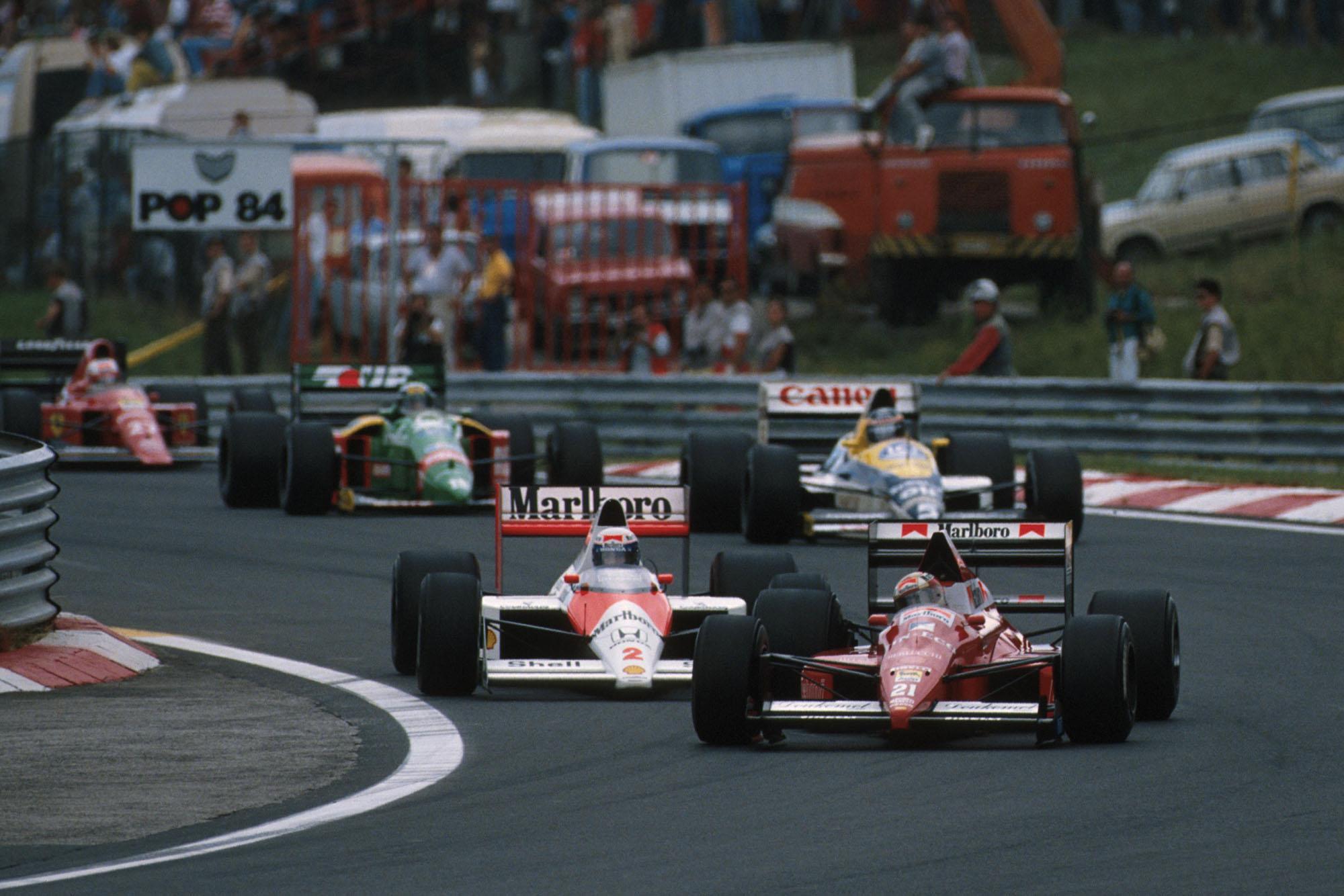 1989 HUN GP Caffi