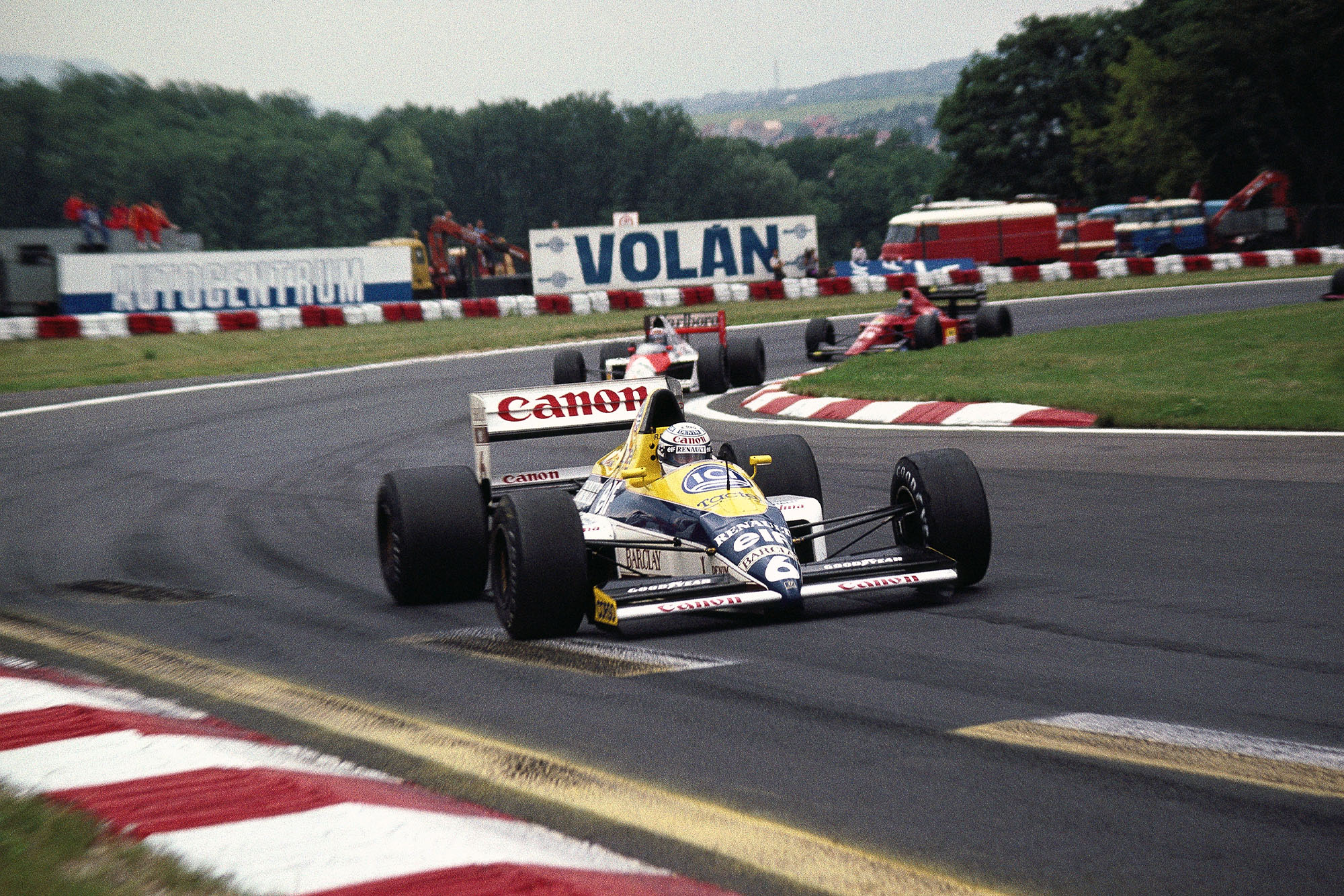 1989 HUN GP Patrese pole