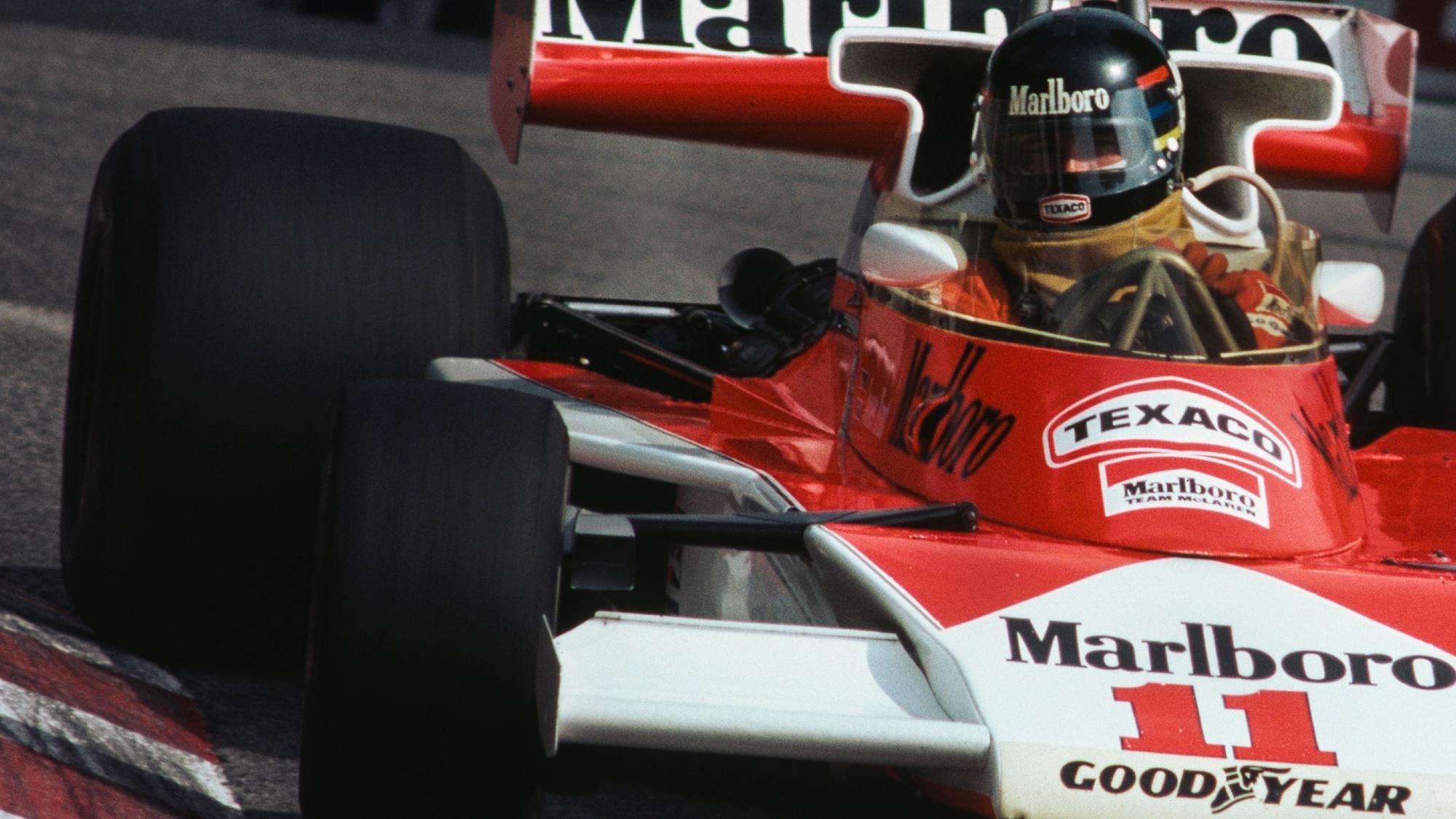 James Hunt, 1976 Monaco GP