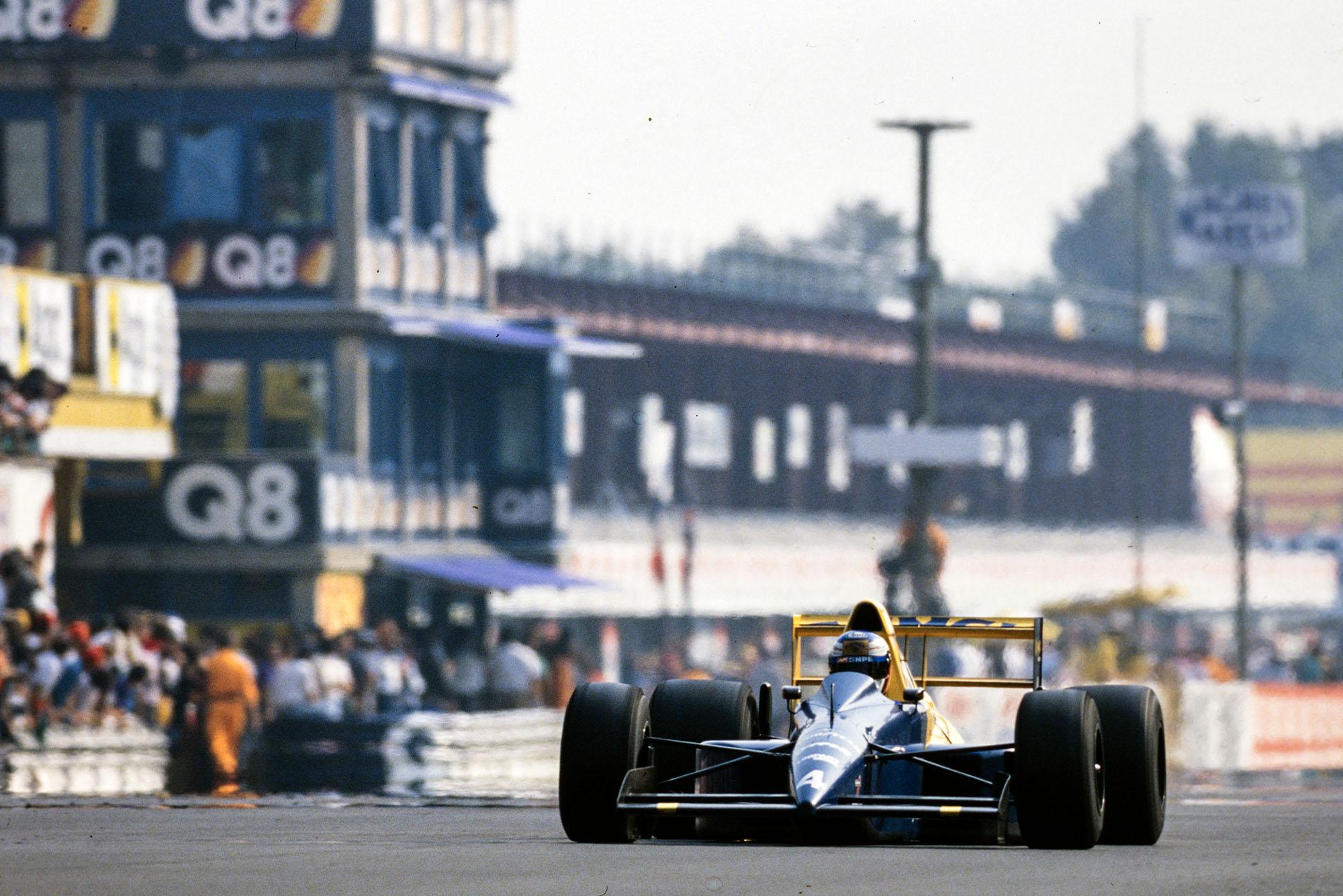 1989 ITA GP Alesi 5th