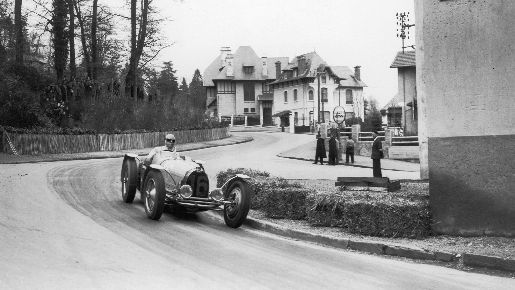 Jean-Pierre Wiimille in Pau in 1937