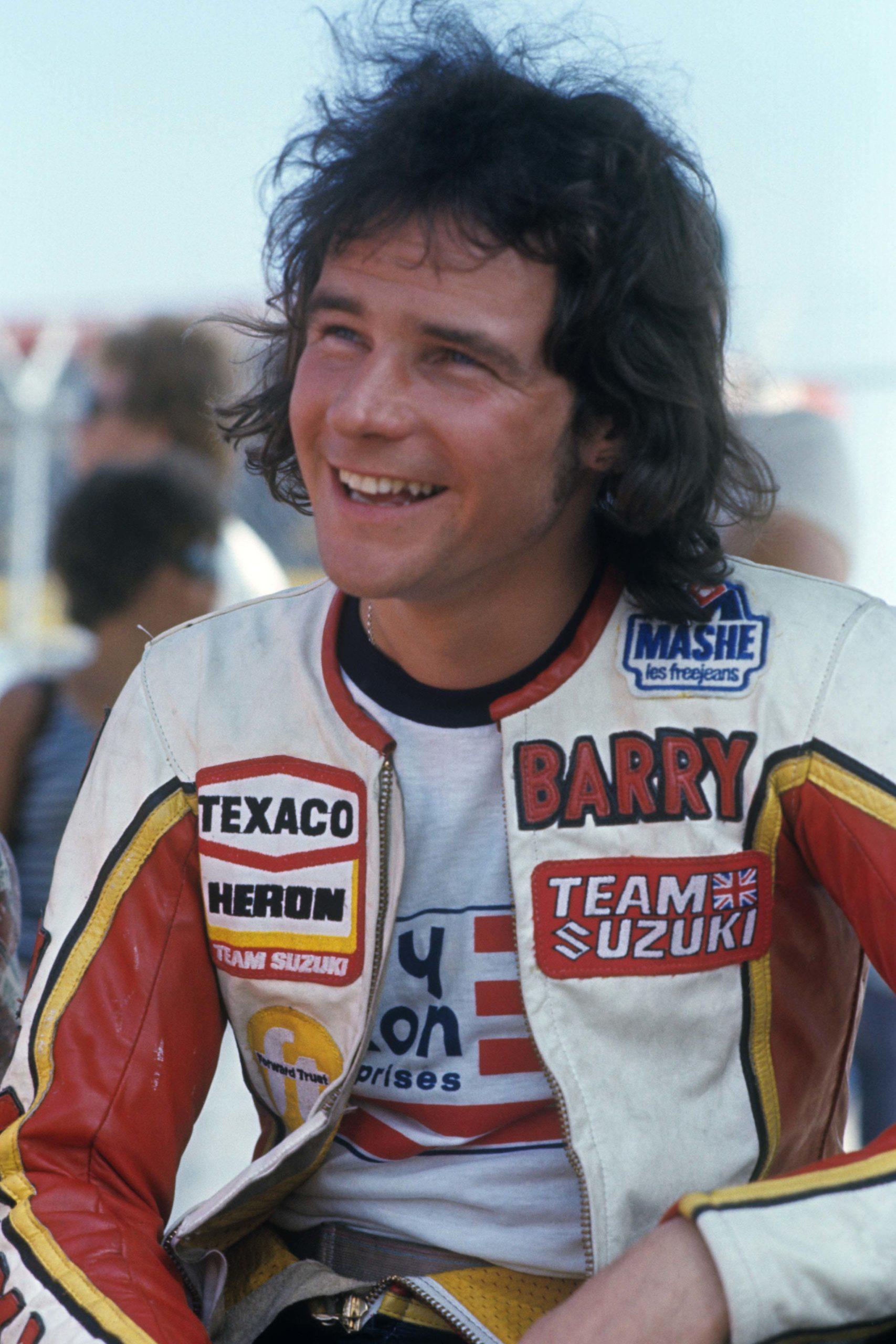 Barry Sheene in May 1976