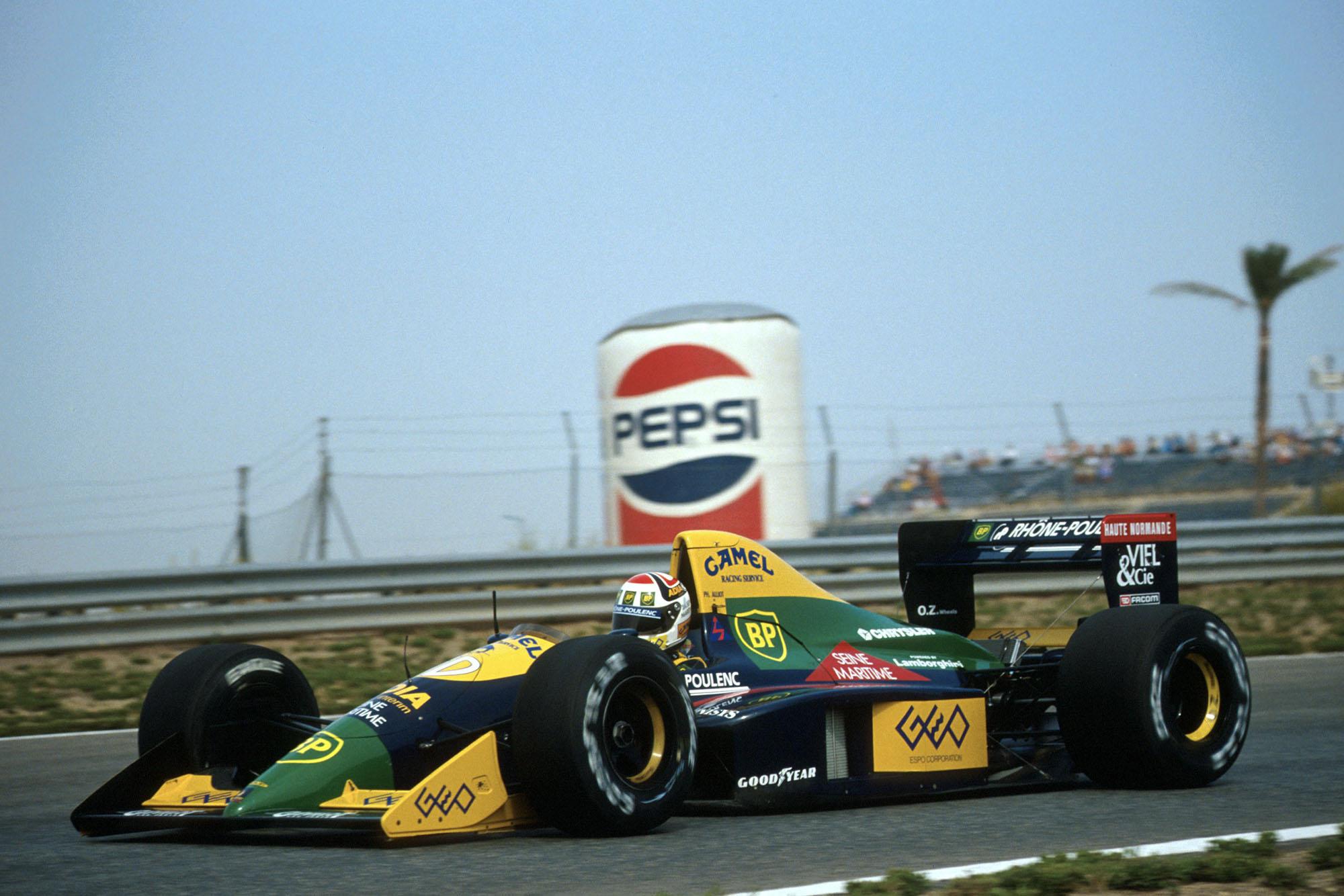 1989 SPA GP Alliot