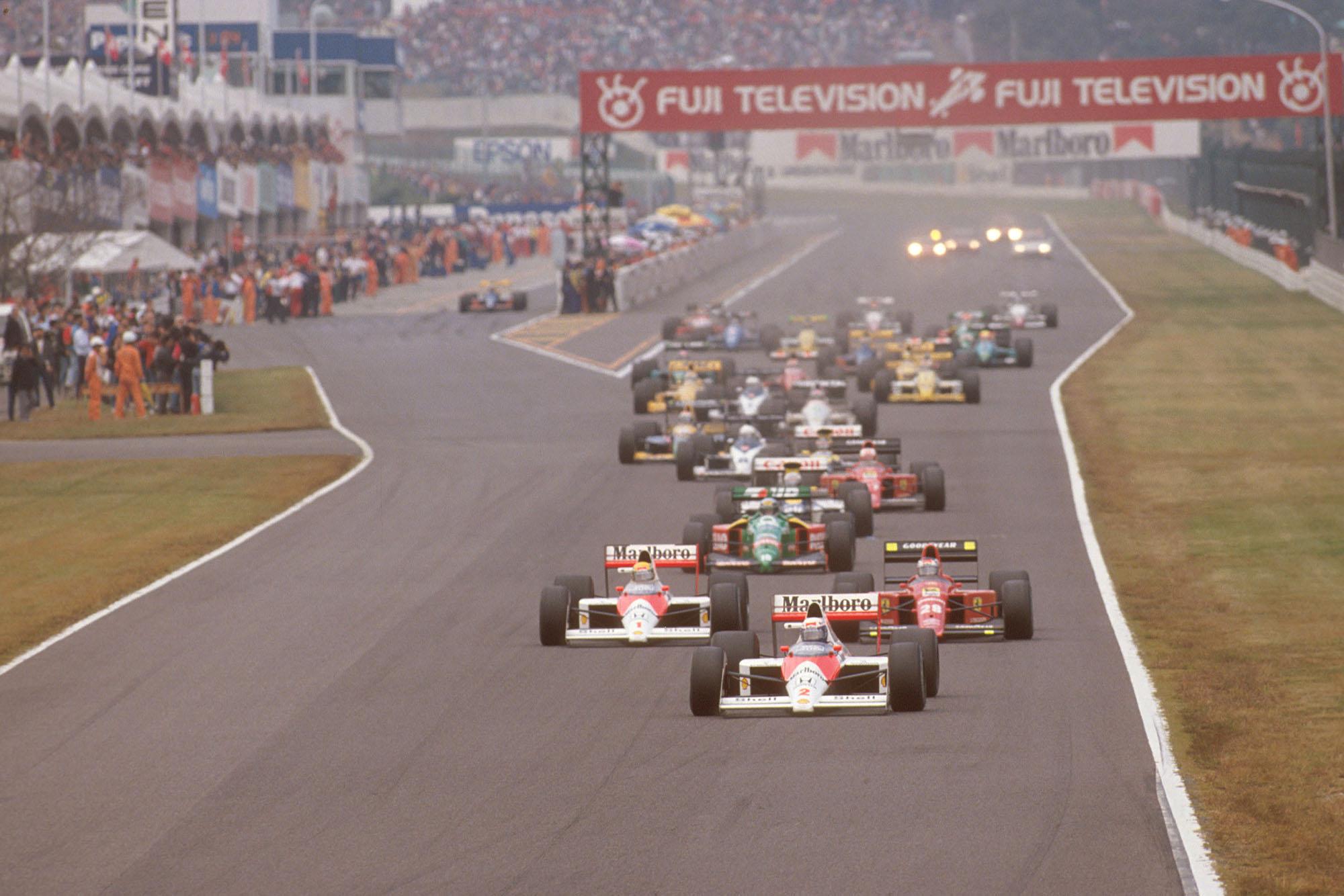 1989 JAP GP start