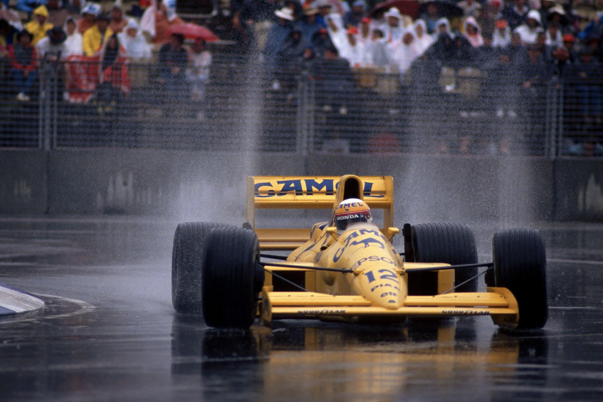 1989 AUS GP Nakajima