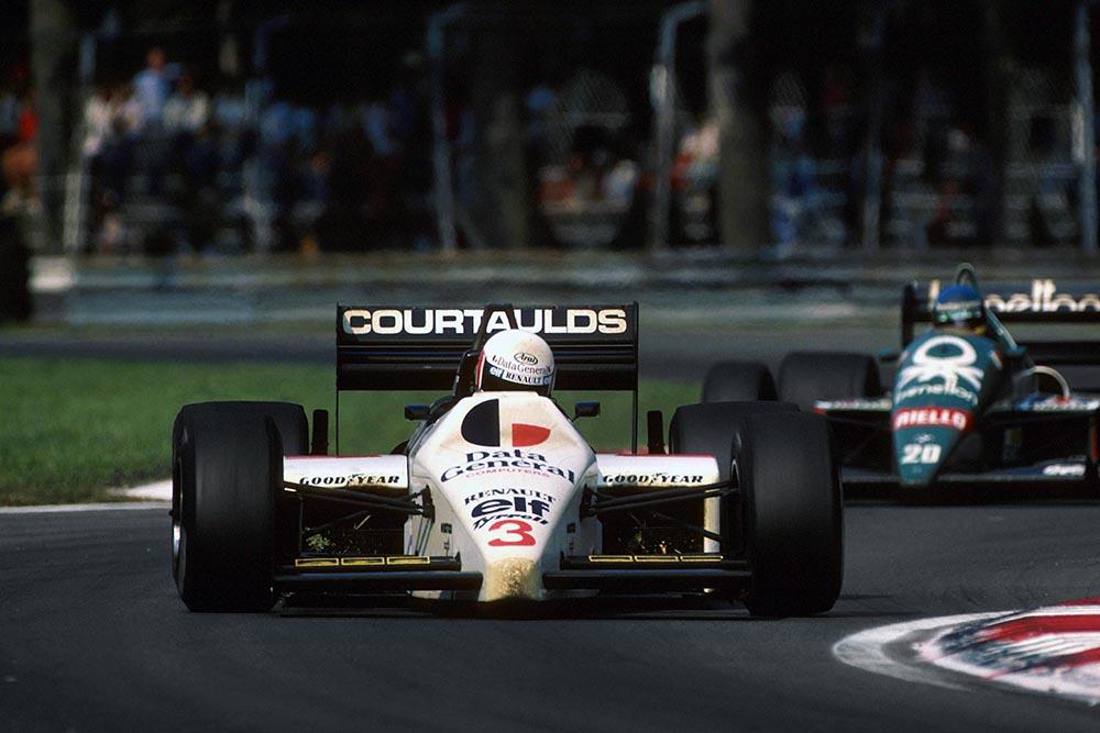 Martin Brundlein his Tyrrell 015.