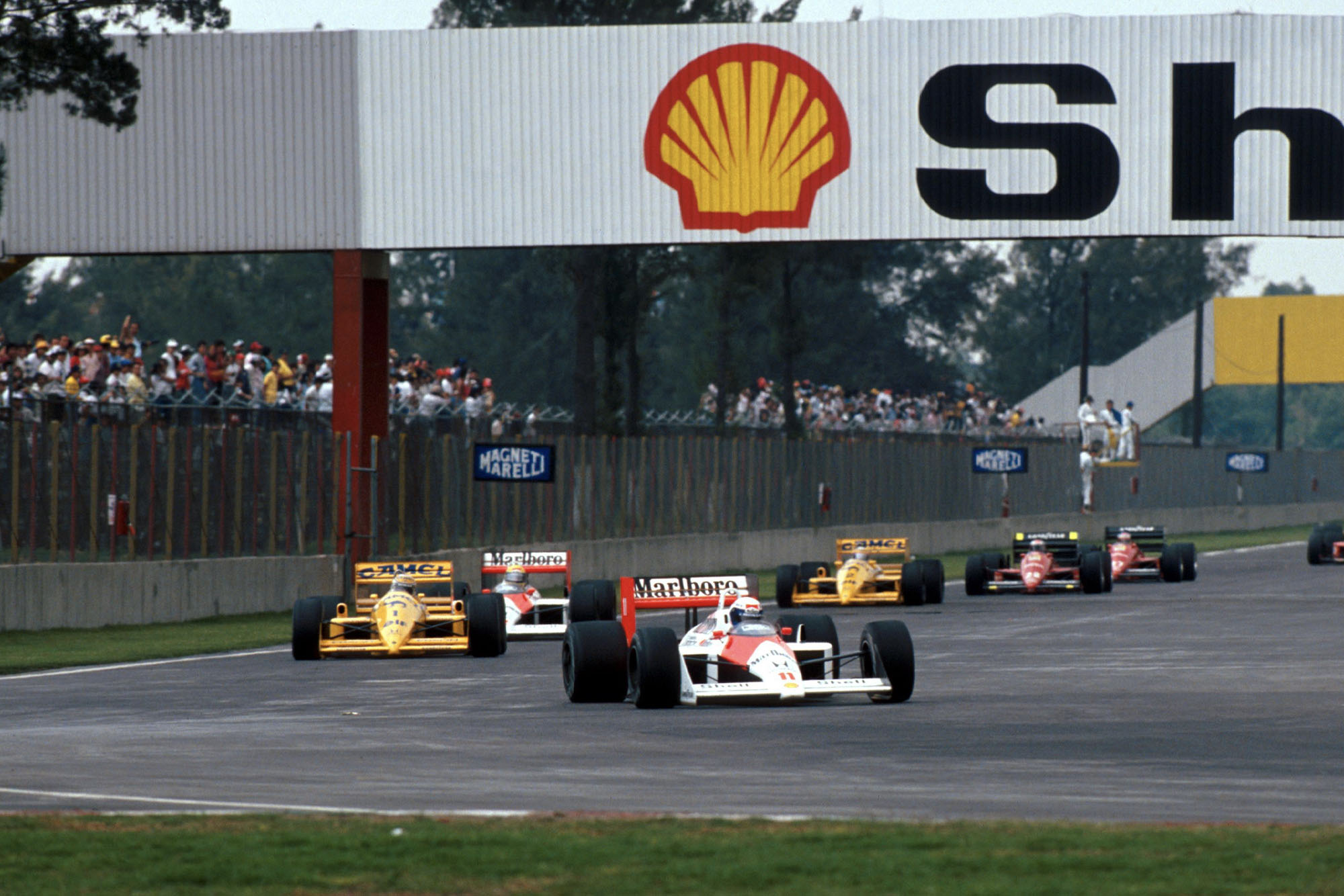 1988 Mexican GP start
