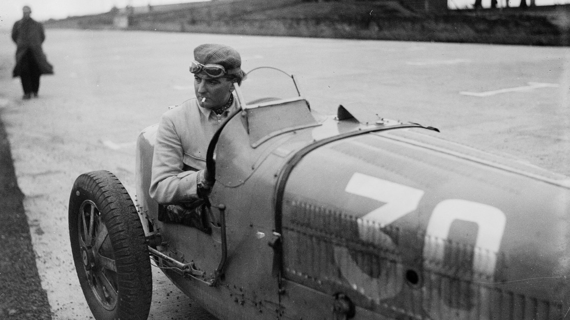 GERMANY - DECEMBER 05: Photograph by Zoltan Glass. British Grand Prix racing driver Charles Frederick William Grover-Williams was known as