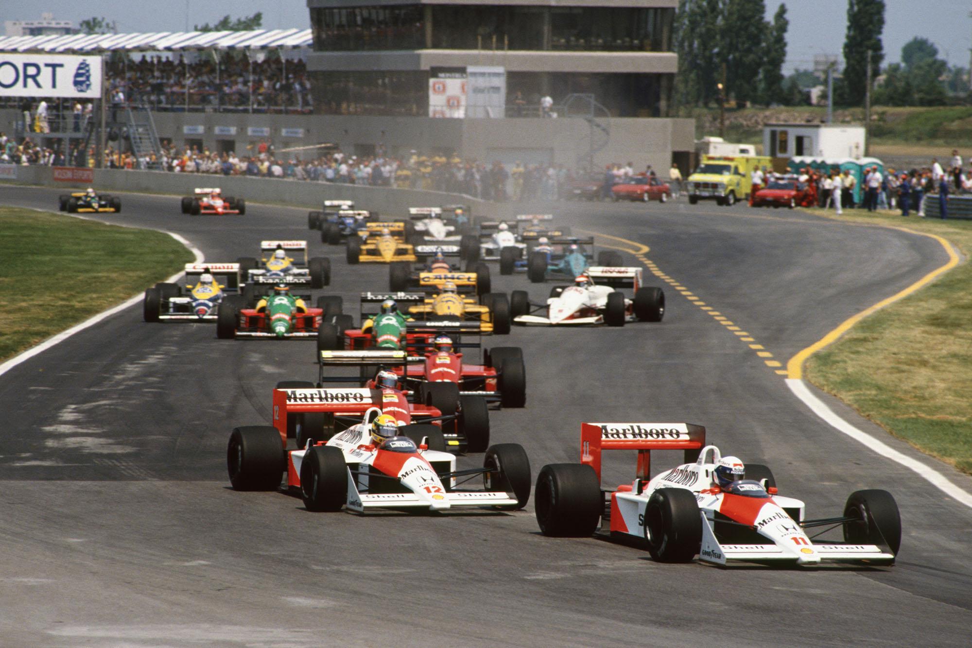 1988 CAN GP start