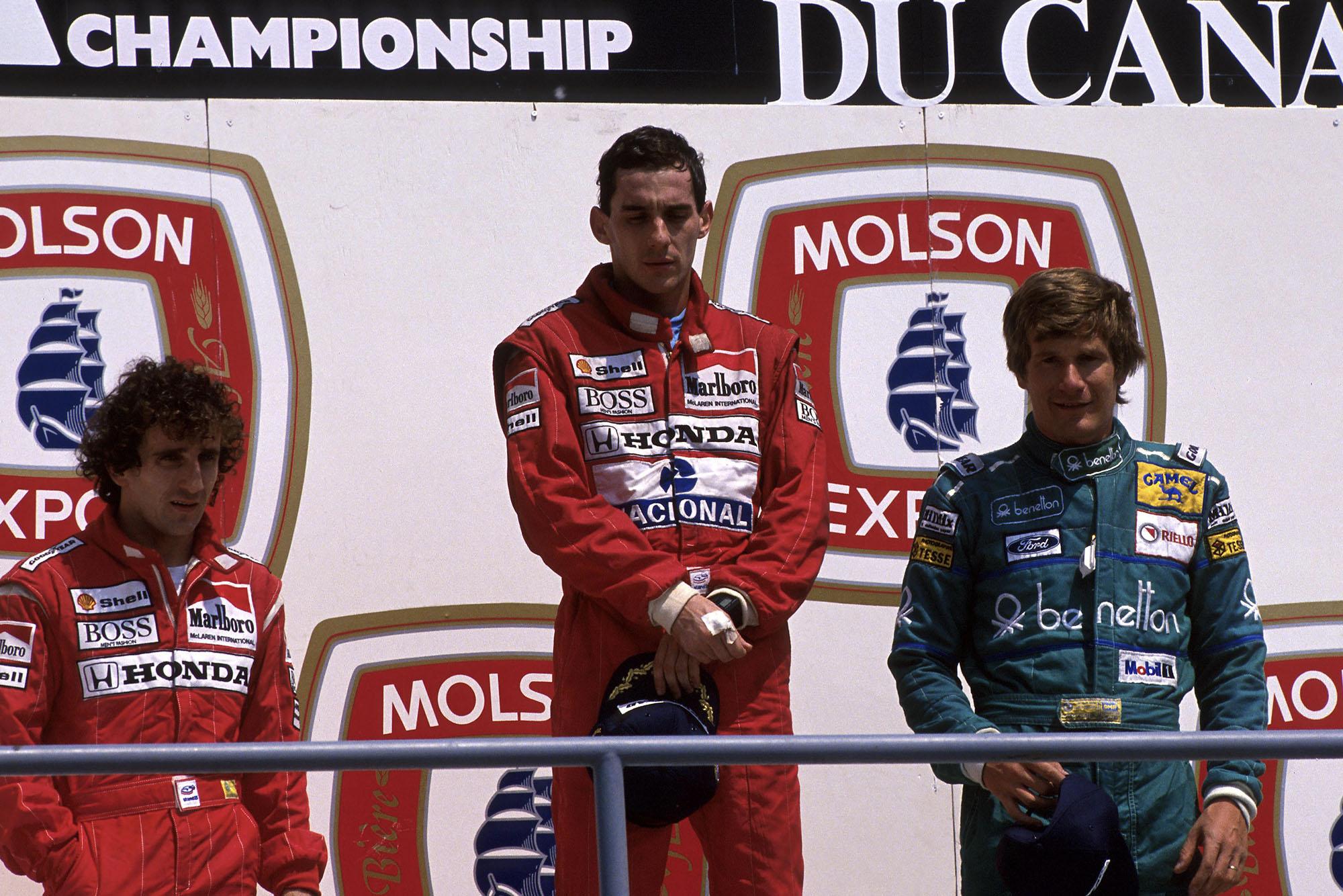 1988 CAN GP podium