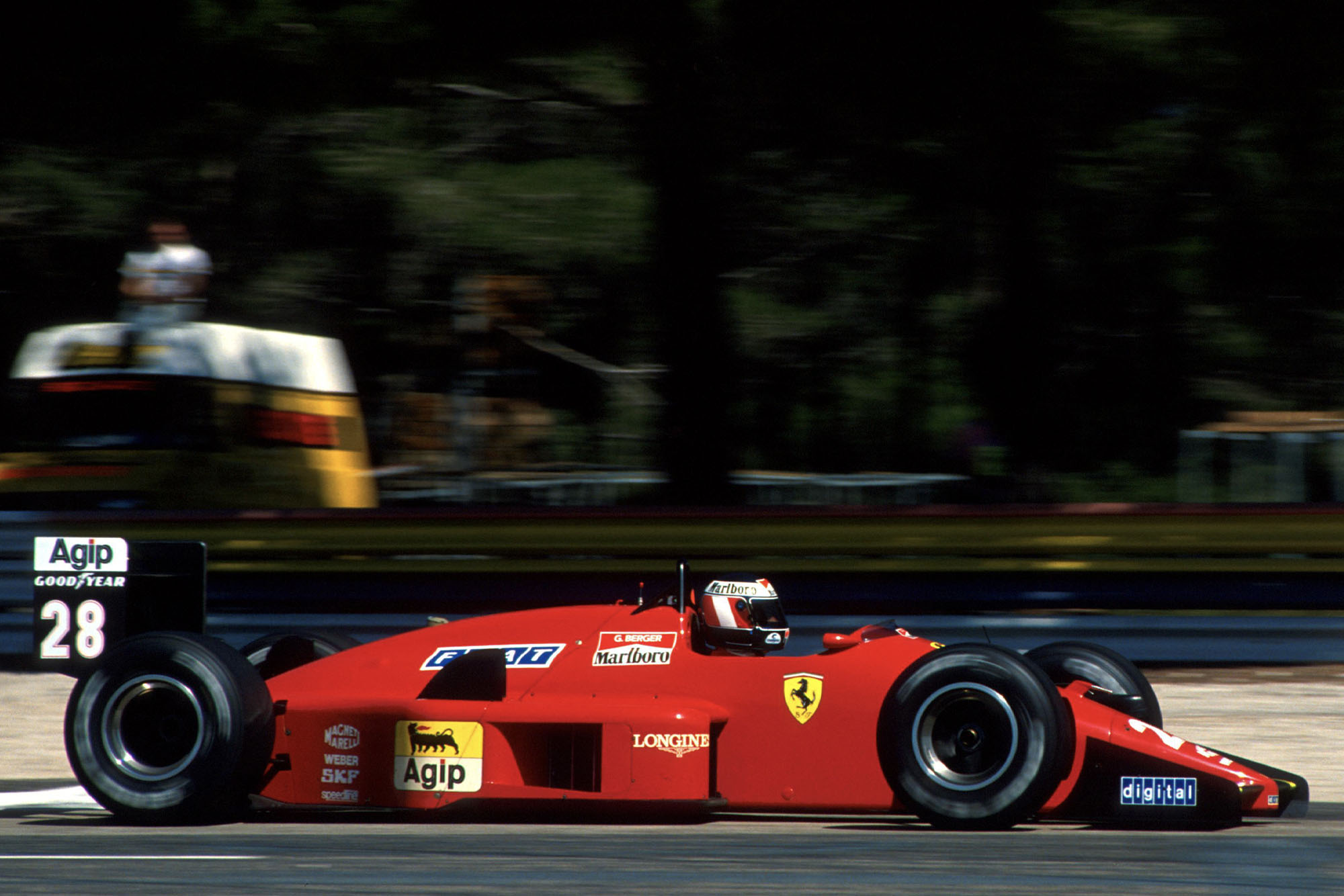 1988 FRA GP Berger Q3