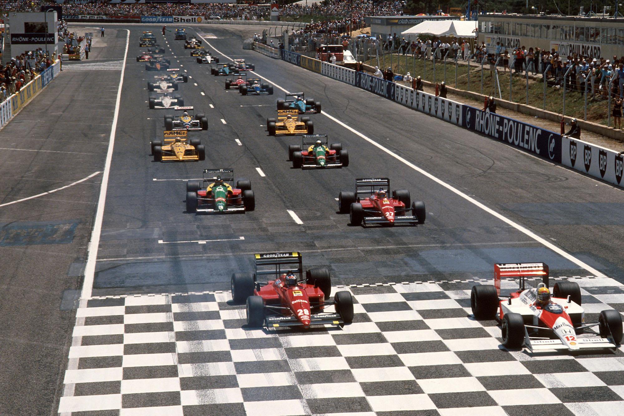 1988 FRA GP start