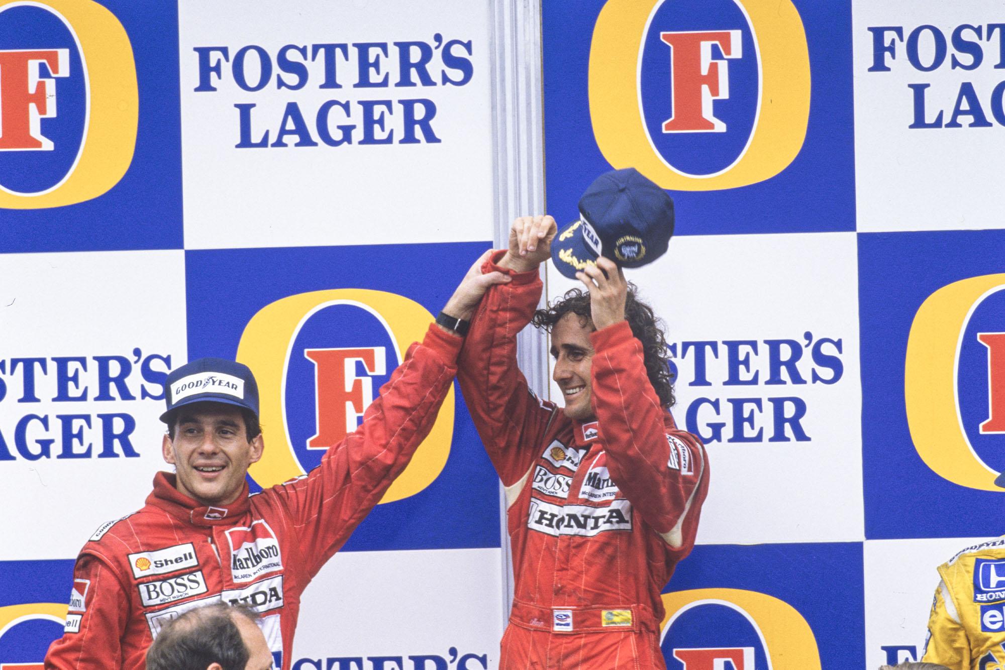 1988 AUS GP podium