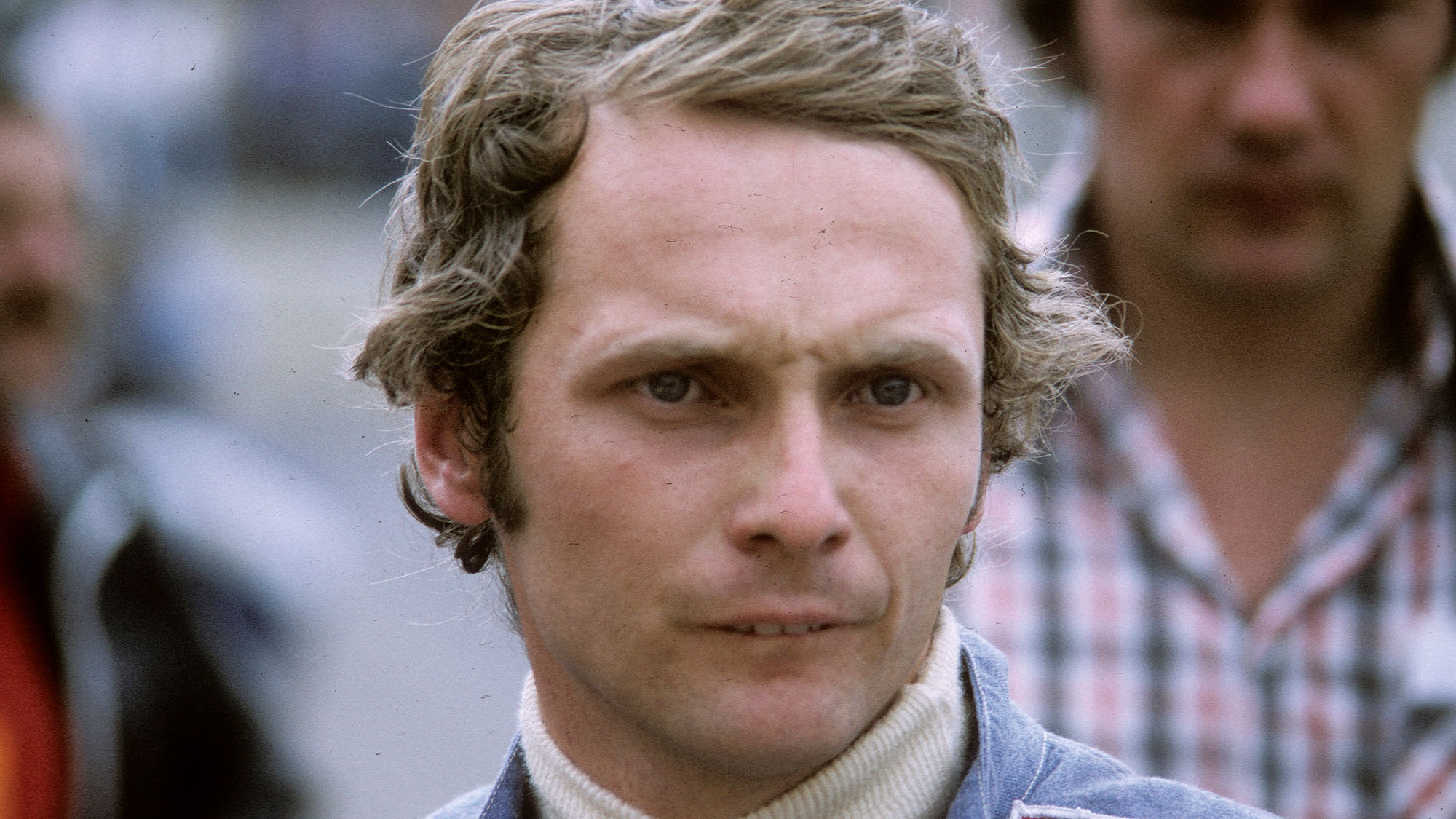 BRANDS HATCH, ENGLAND - JULY 01: Austrian F1 racing driver Niki Lauda at Brands Hatch on July 01, 1974 in Brands Hatch England. (Photo by Anwar Hussein/Getty Images)