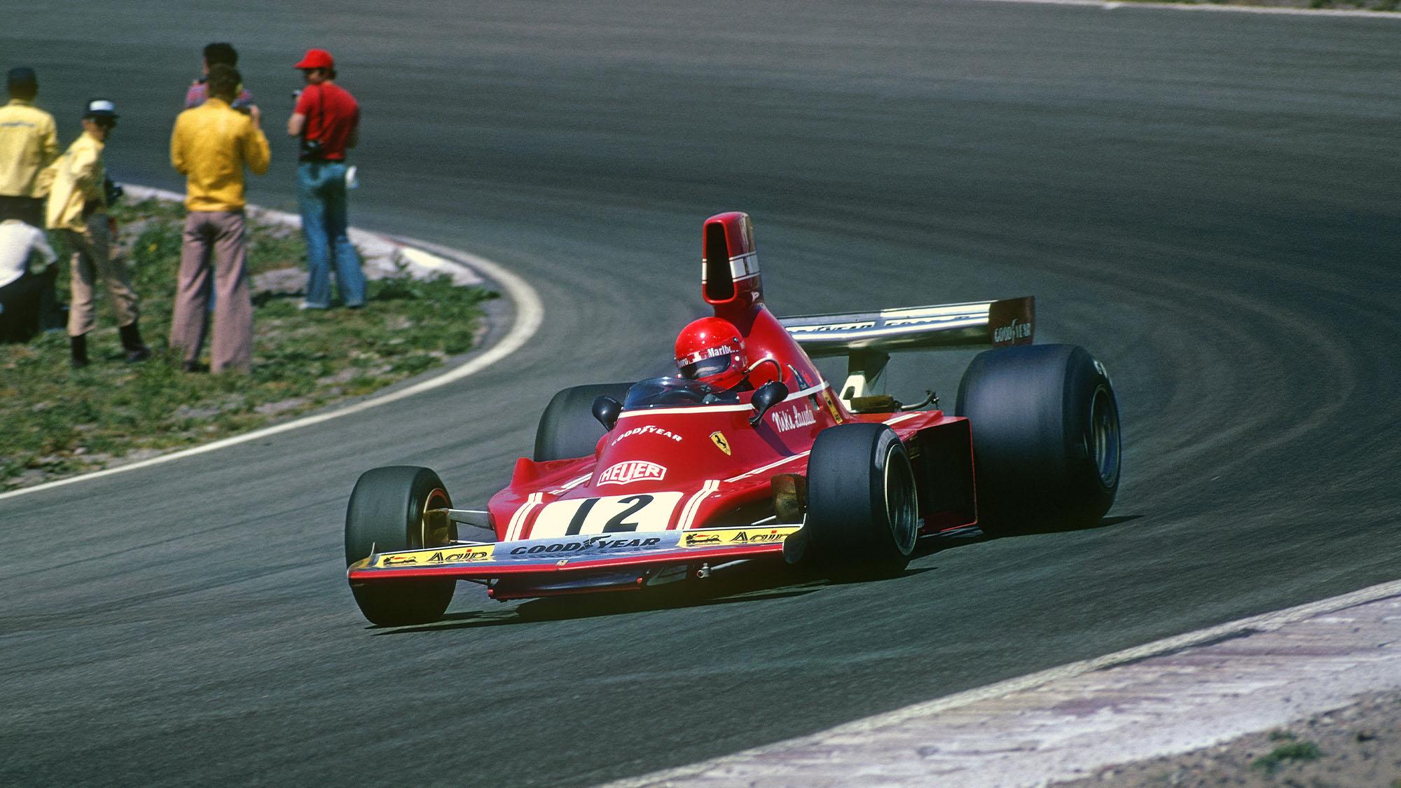 Lauda Ferrari