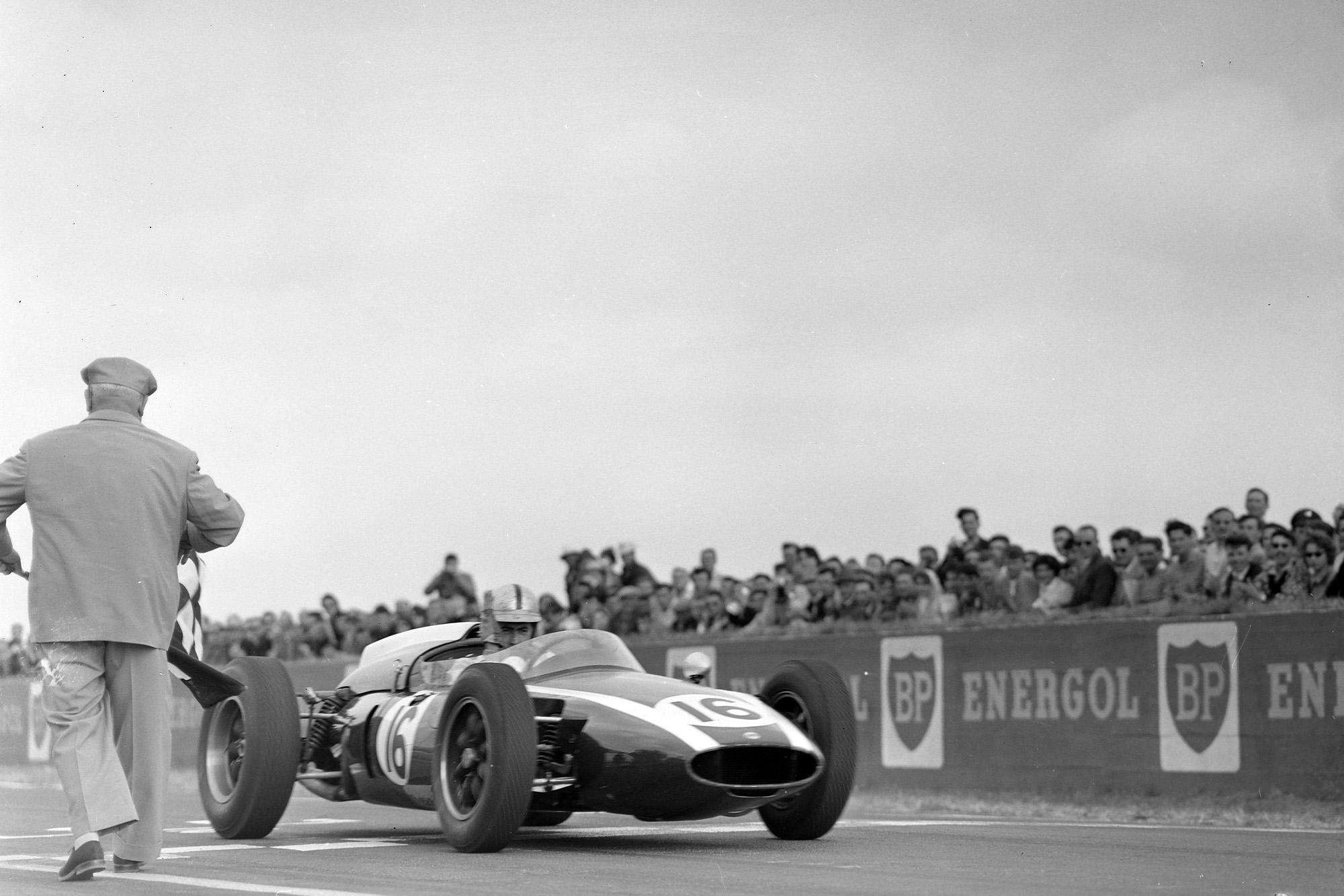Jack Brabham takes his 3rd win of the season