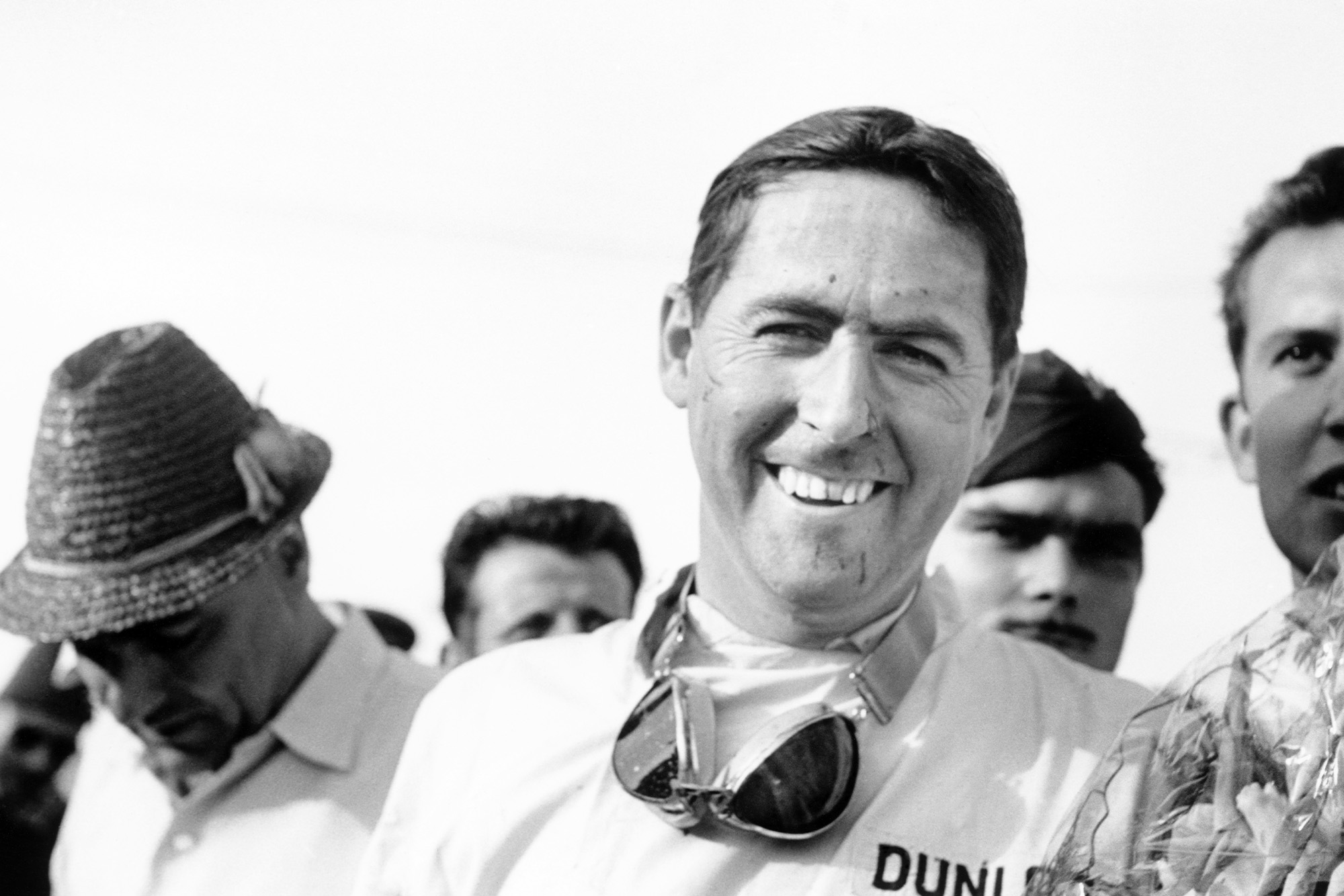 Brabham shows his delight in taking a fifth win of the season