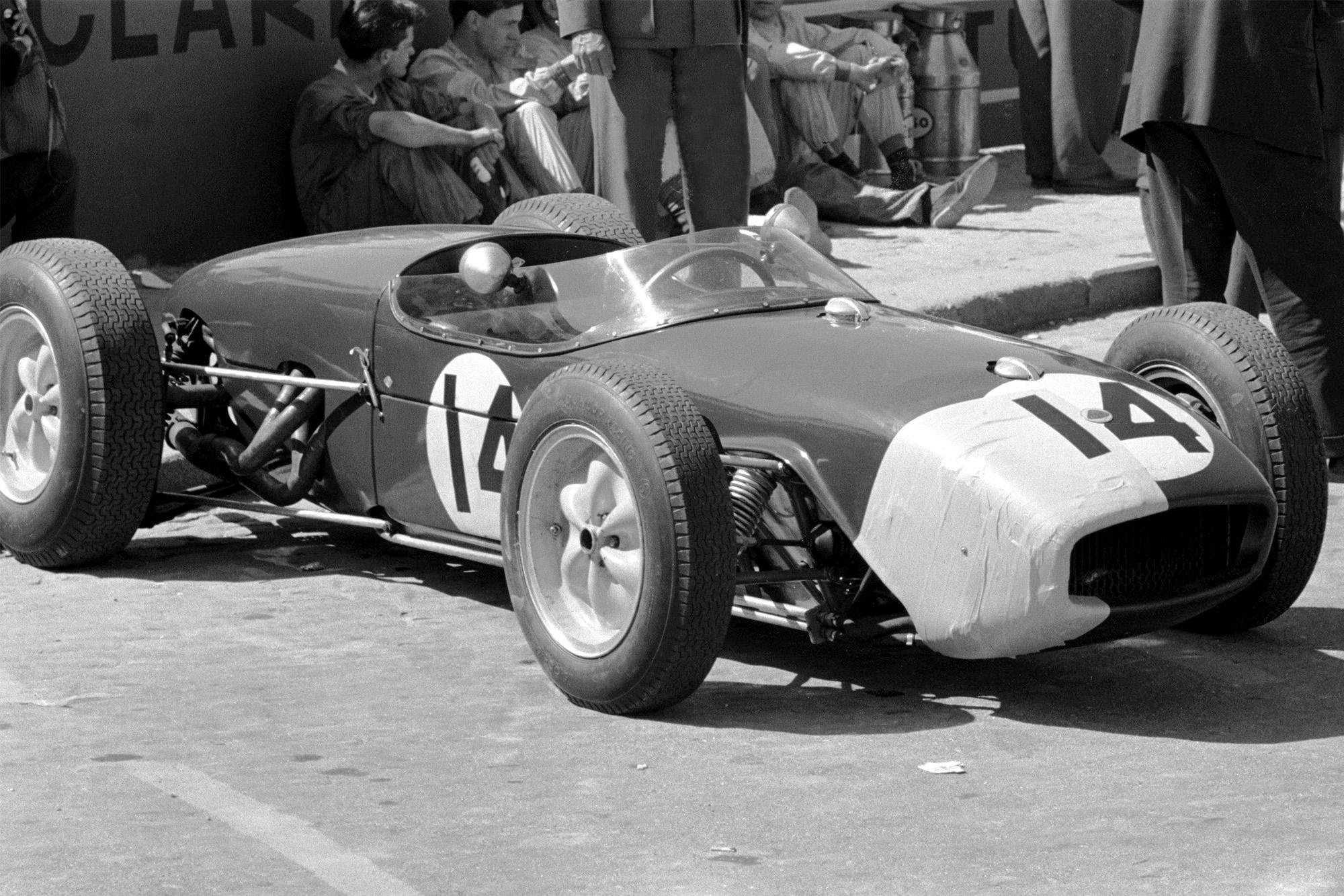 1960 Portuguese GP Clark Lotus
