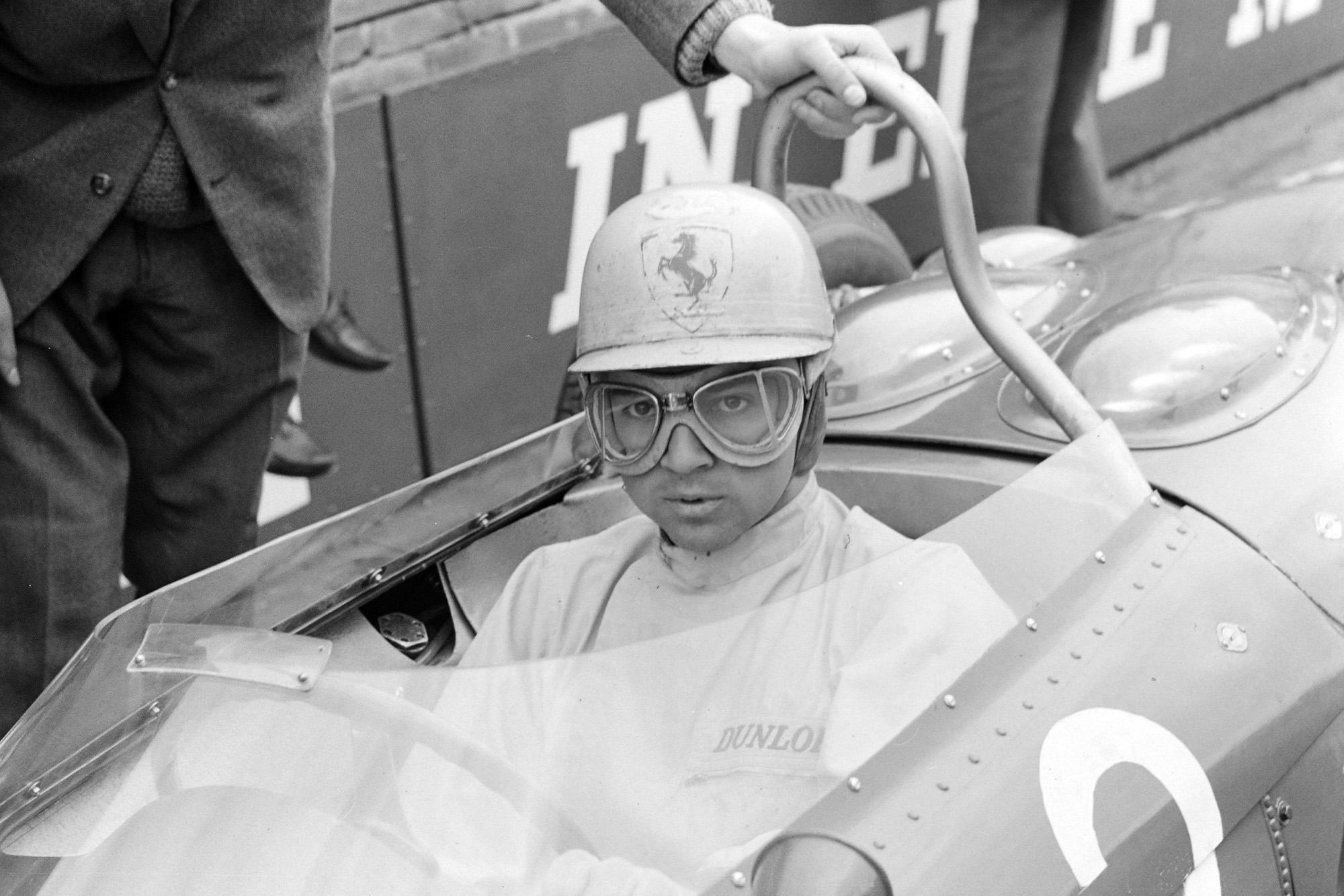 Ricardo Rodriguez was making his second Ferrari appearance