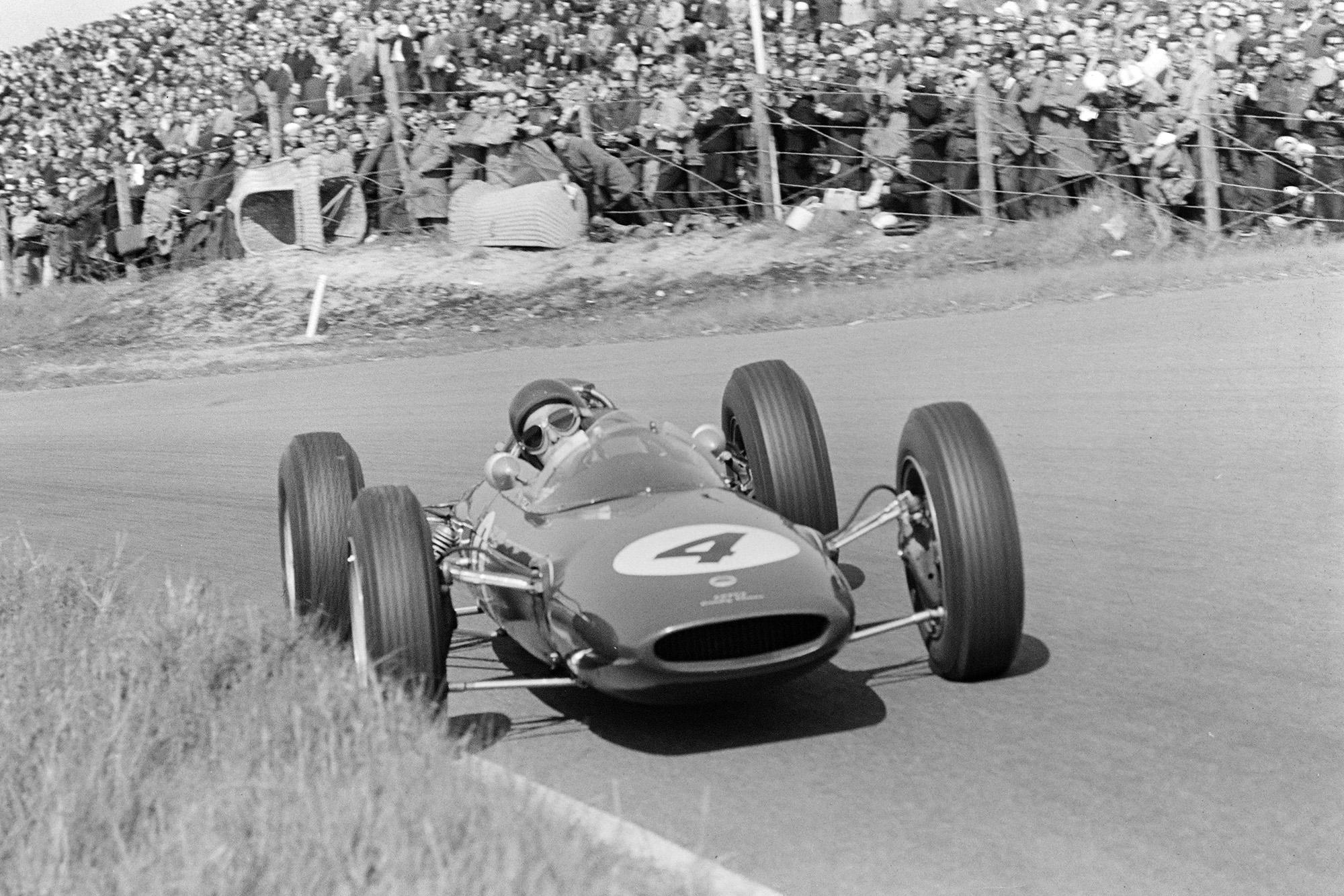 Clark led until mechanical failure on lap 11