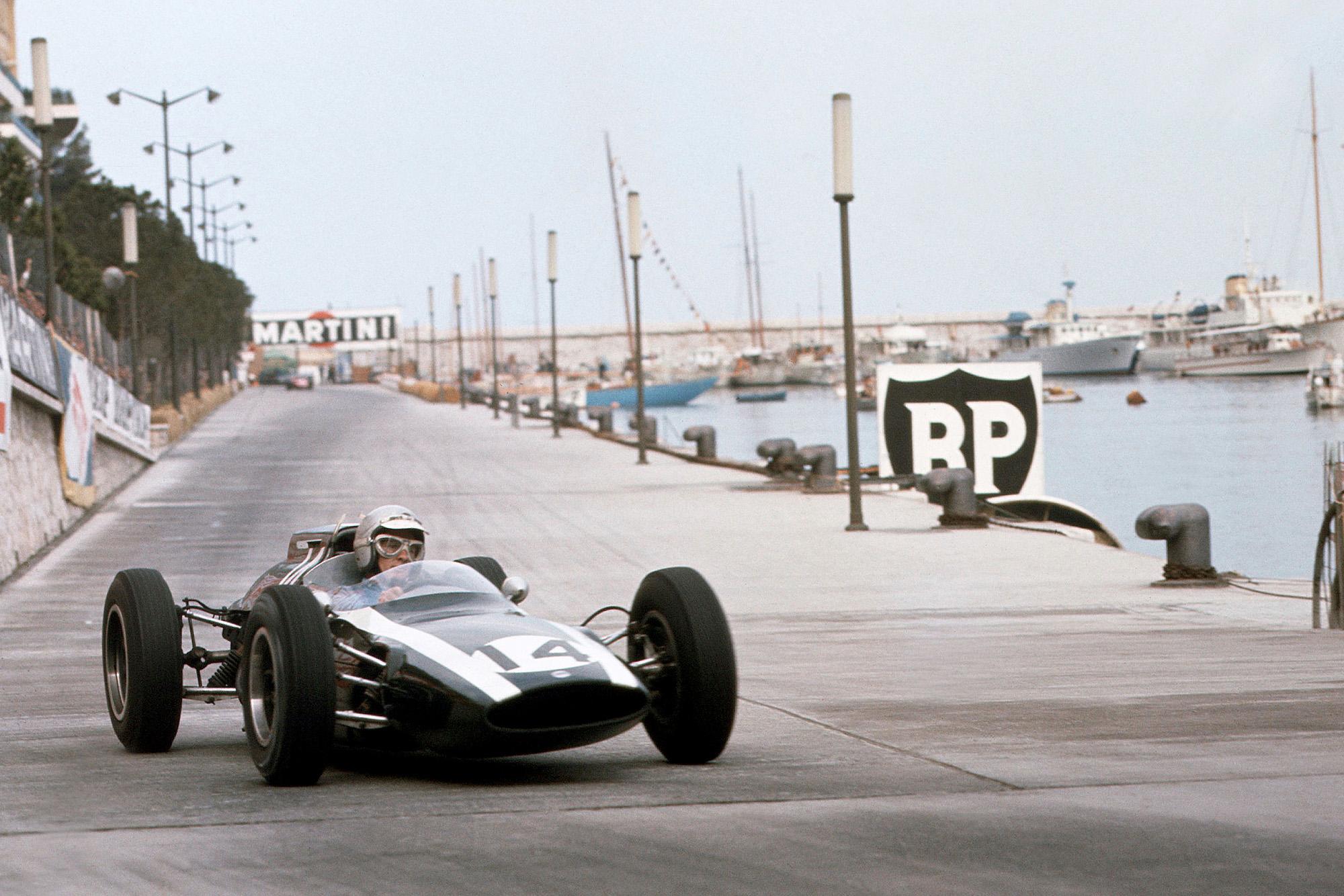 1962 Monaco GP McLaren