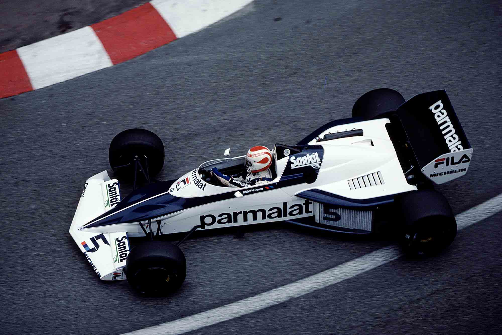 Nelson Piquet at Monaco in his Brabham 1983