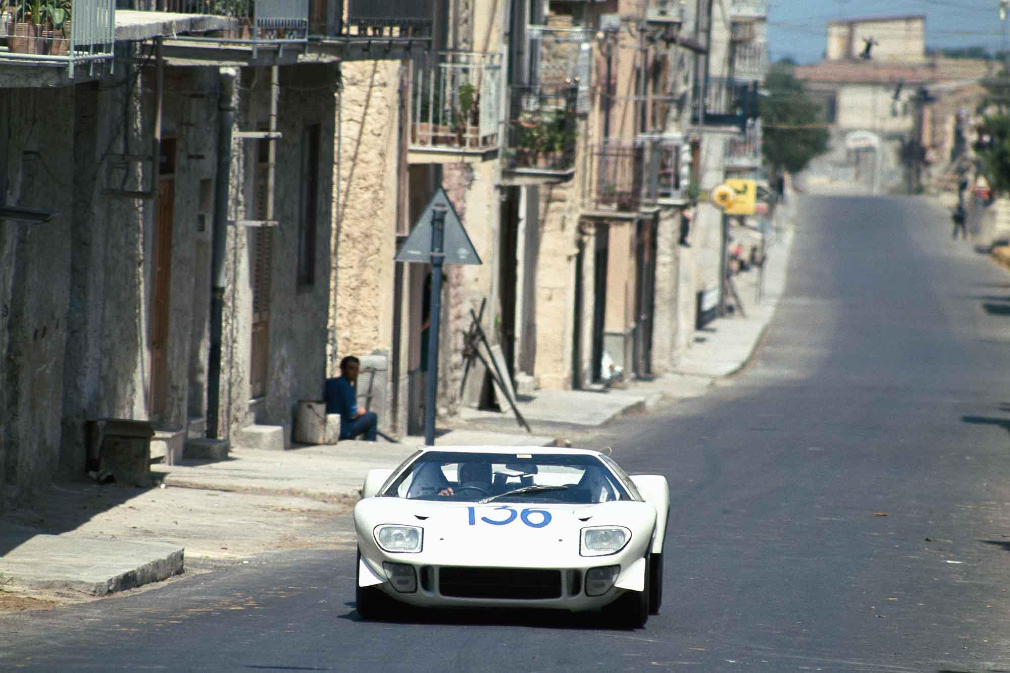 Terry Drury, Ford GT40, 1968 Targa Florio