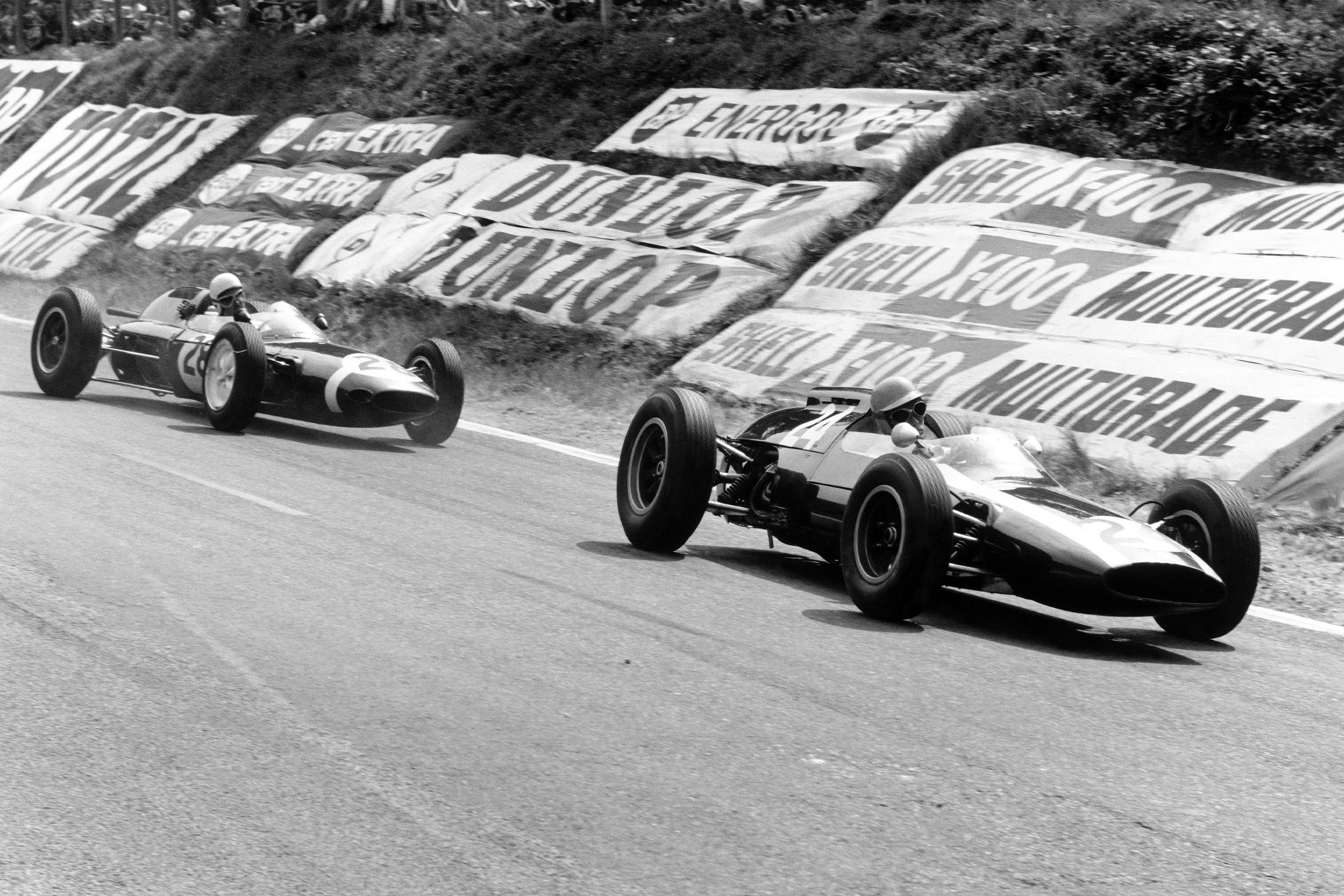 Maggs and Trintignant dice at the hairpin