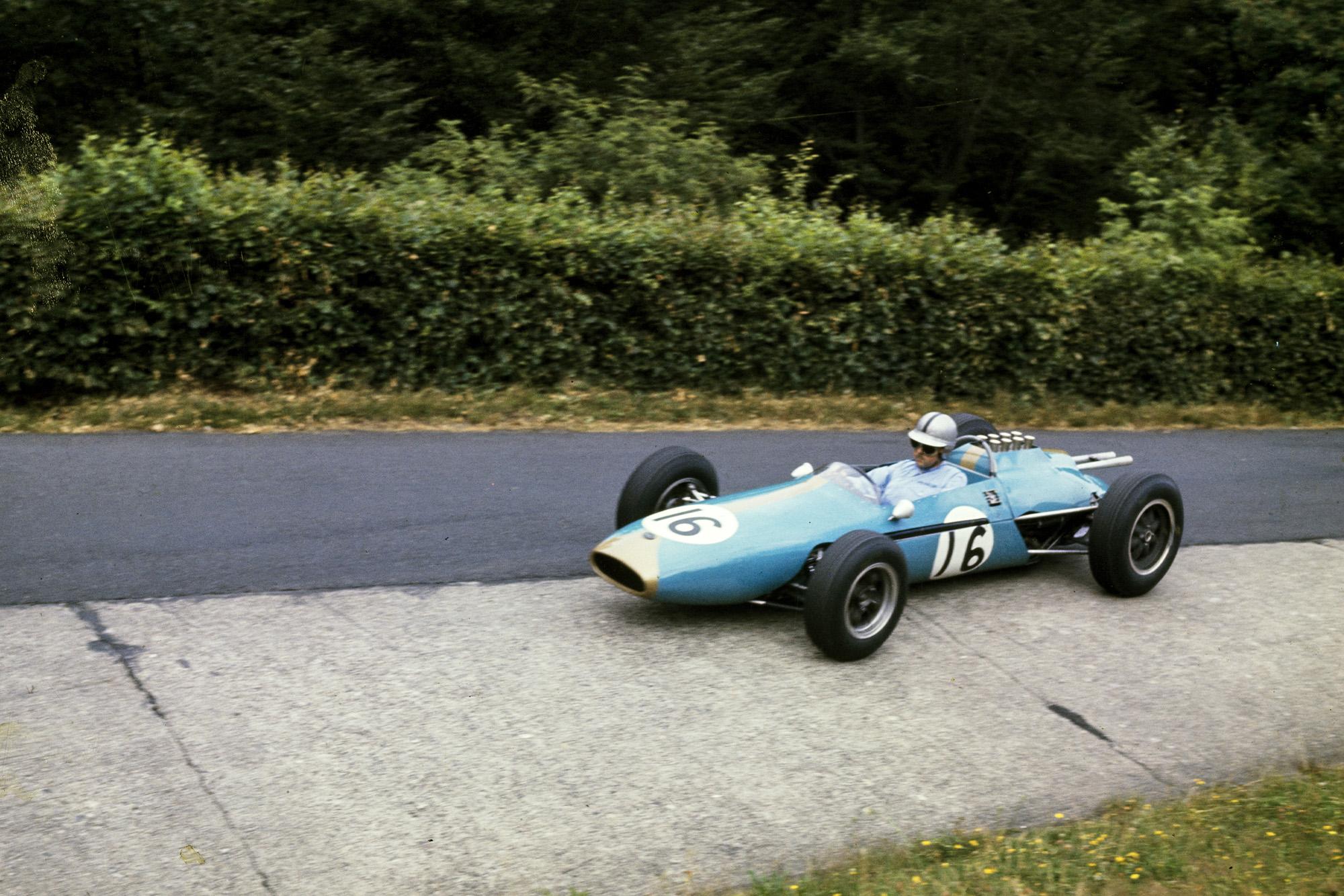 Brabham entered his new Brabham BT3 Climax