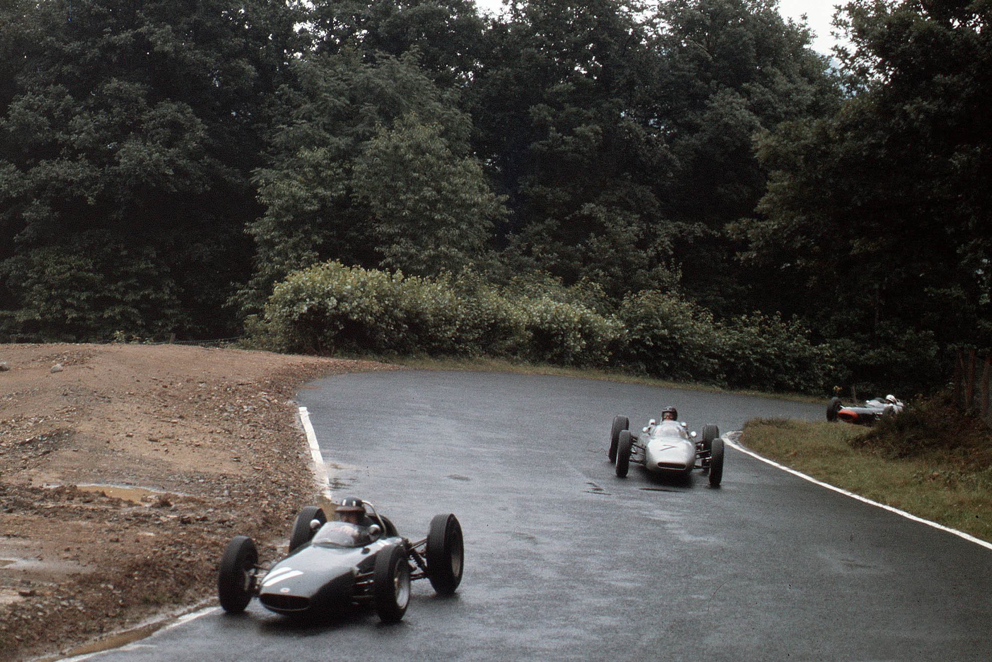 Gurney and Surtees keep the pressure on Hill