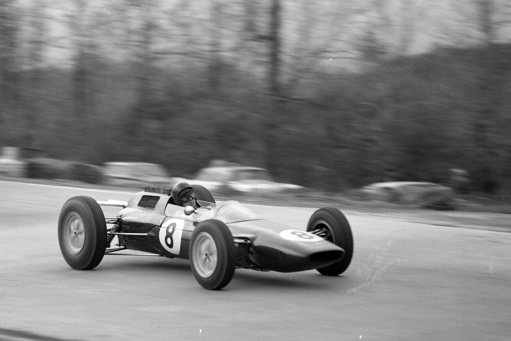 Jim Clark took his third win of the year for Lotus
