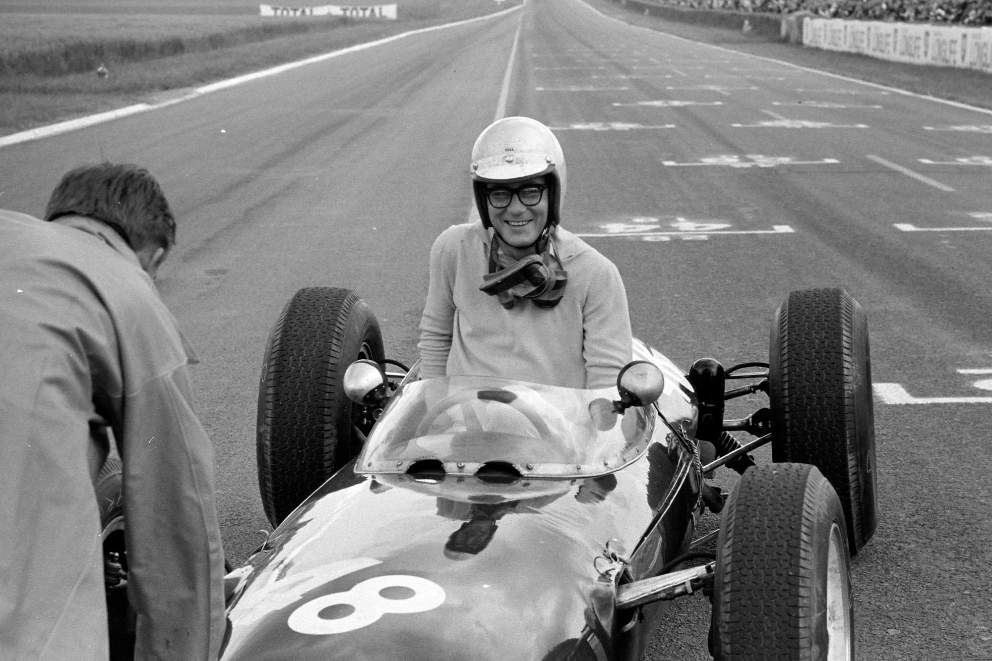 Masten Gregory, Lotus 24 BRM.
