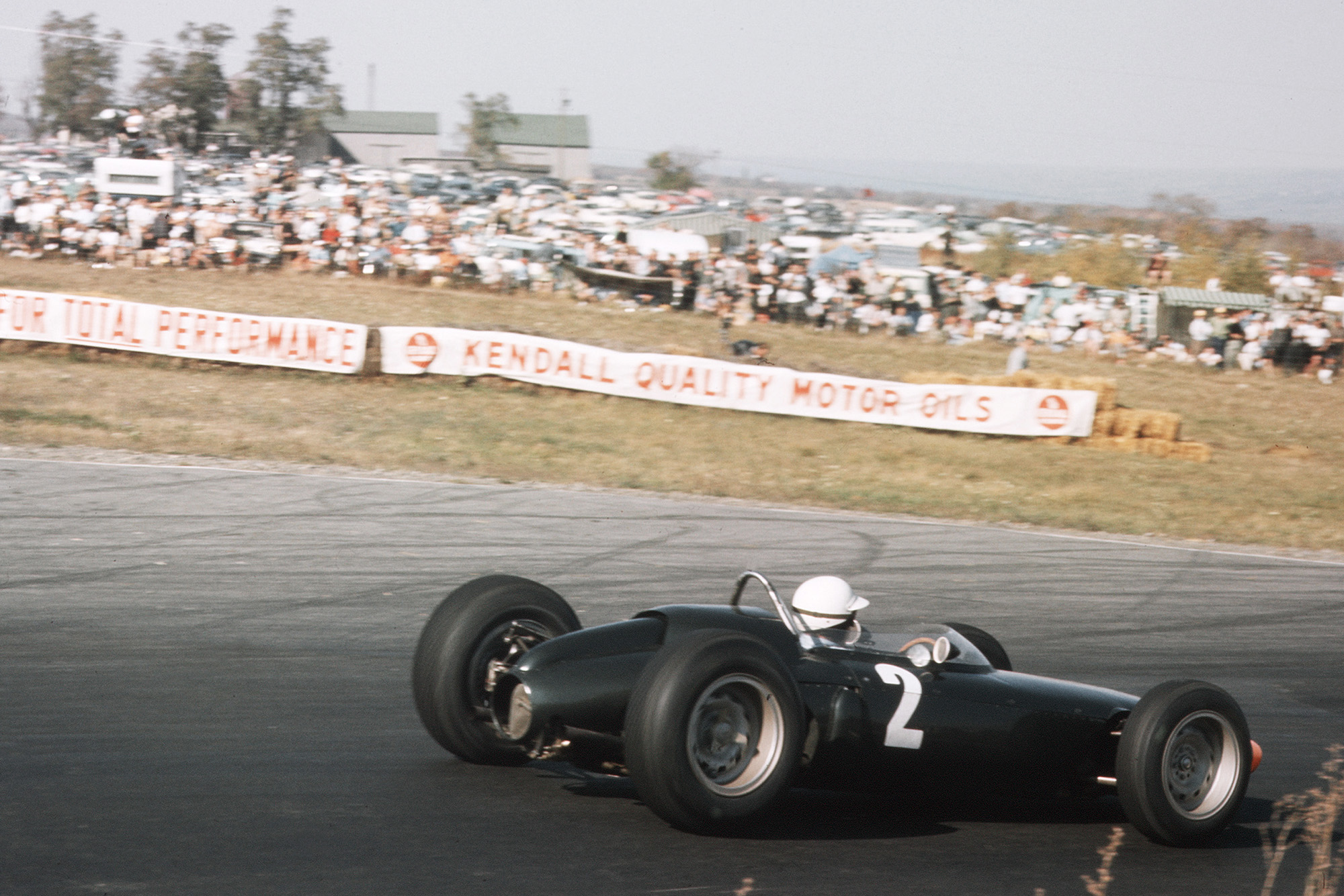Richie Ginther (BRM P57).