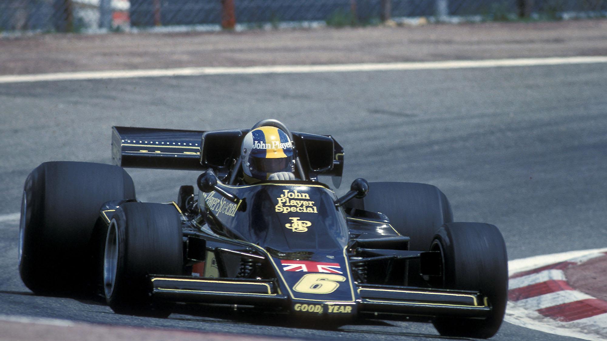AUTO - F1 1976 - SPAIN - JARAMA 19760502 - PHOTO: DPPI GUNNAR NILSSON (SWE) / LOTUS FORD - ACTION
