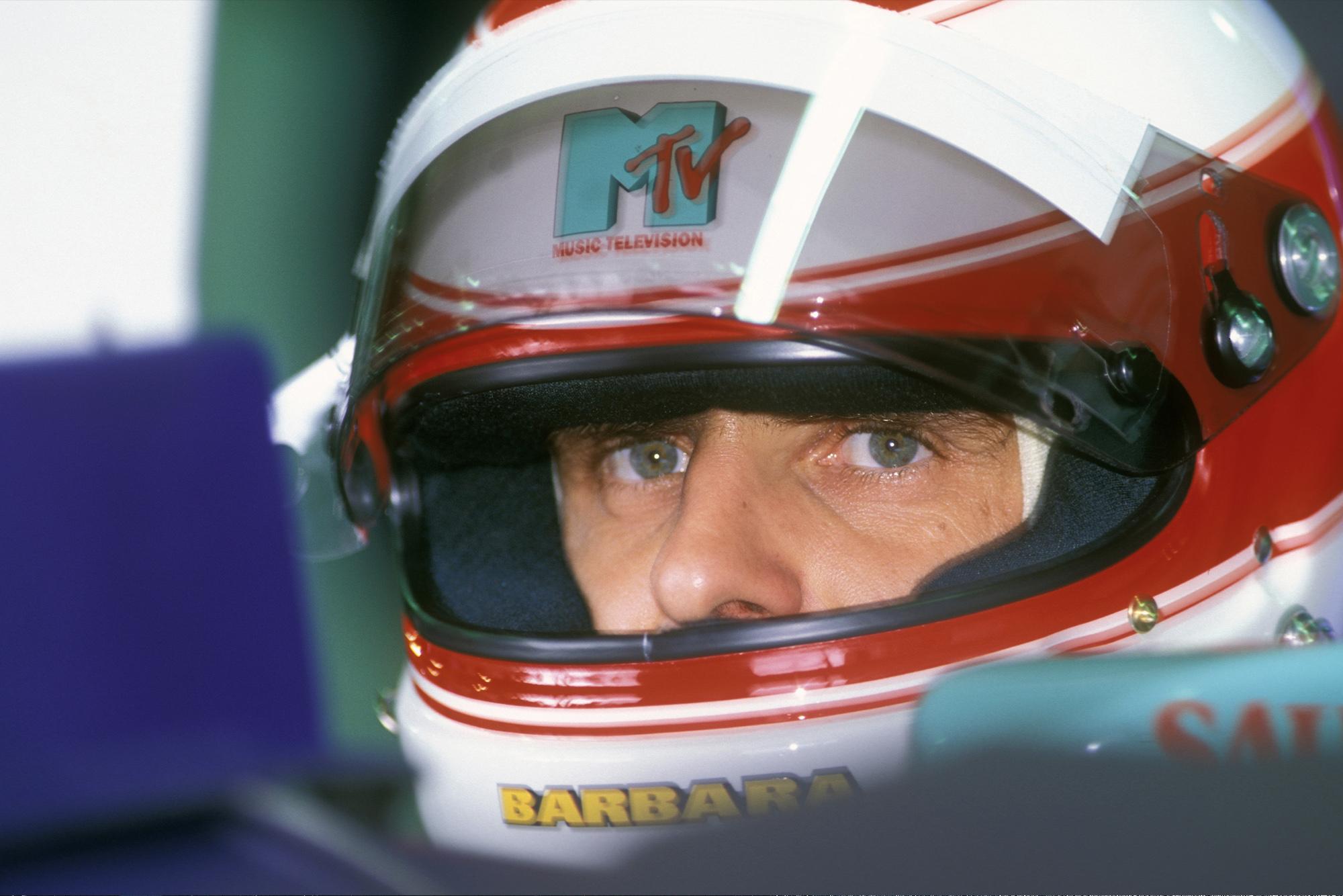 Roland Ratzenberger ahead of the 1994 San Marino Grand Prix weekend