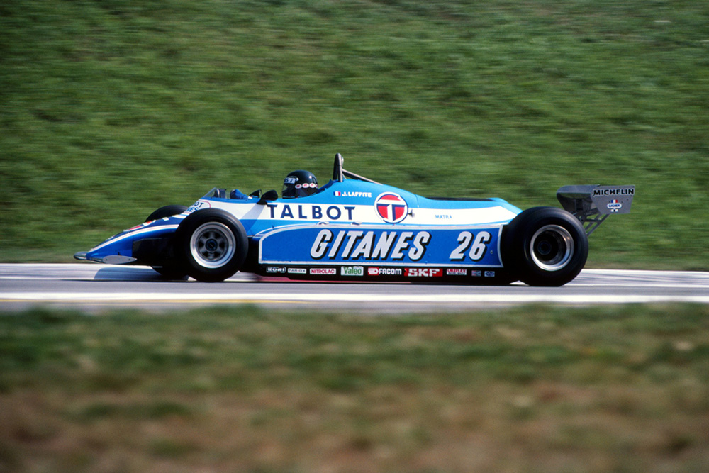 Jacques Laffite Ligier JS17.