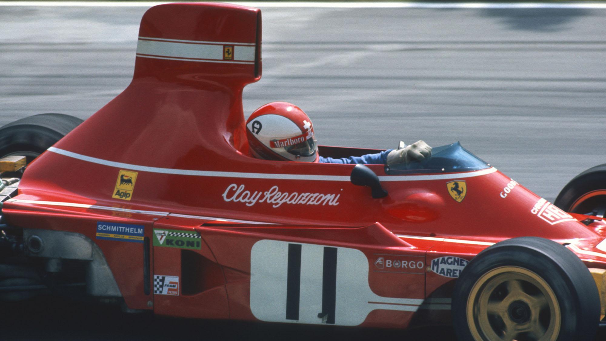 Clay Regazzoni Ferrari