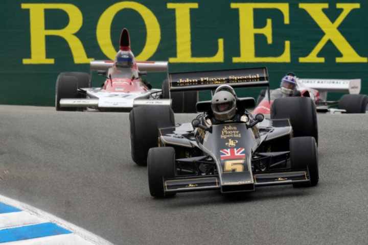 F1 cars star at Monterey