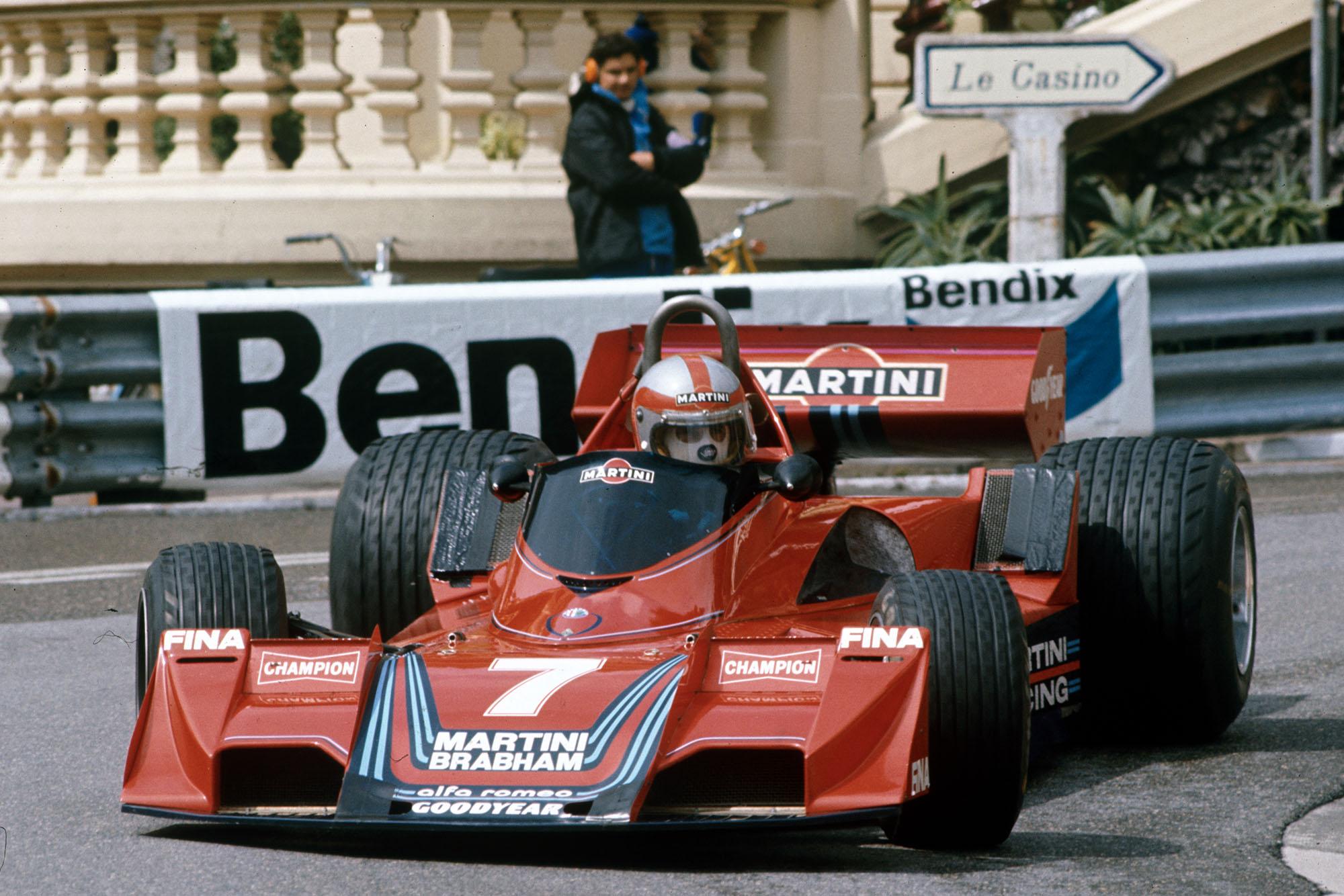 John Watson (Brabham) at the 1977 Monaco Grand Prix.