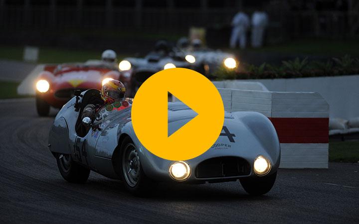 Night racing at Goodwood
