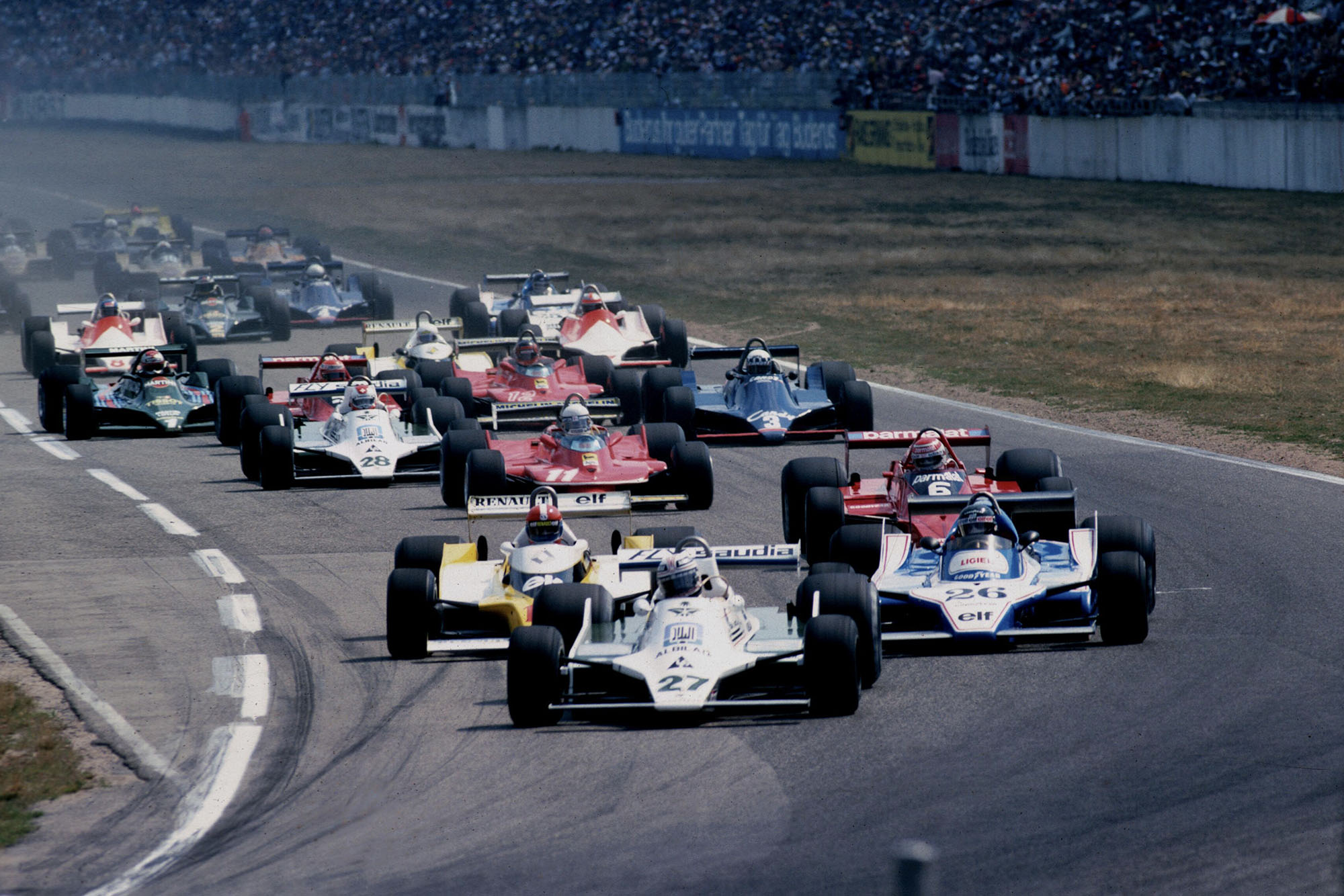 1979 German GP start