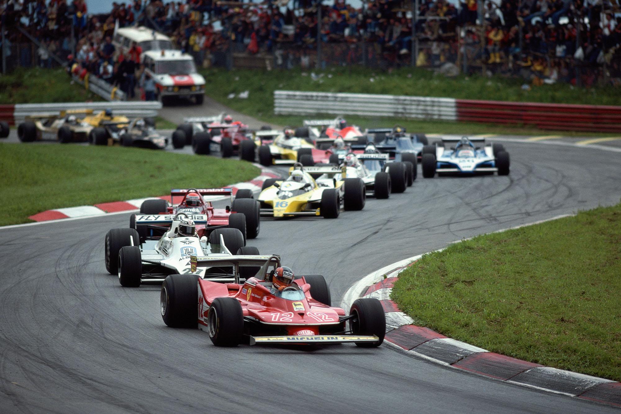 1979 Austrian GP start