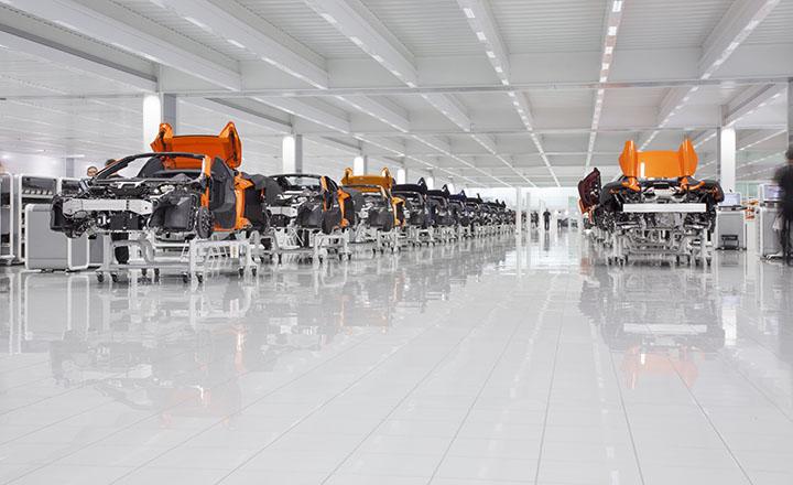 Good news at McLaren