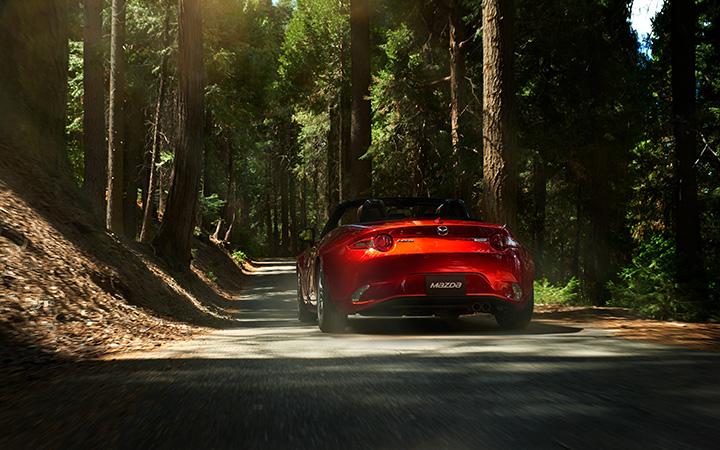 Driving the new Mazda MX-5