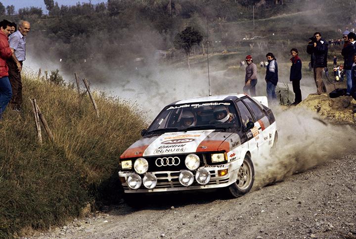 Great rally cars: 1982 Audi Quattro
