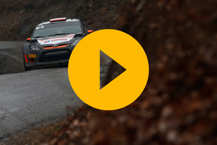 Robert Kubica on the Monte Carlo Rally