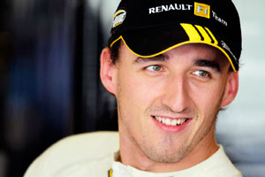 Kubica sidelined by crash