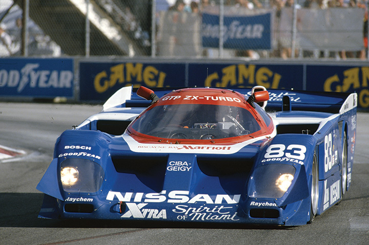 Great racing cars: 1988 Nissan GTP ZX-Turbo