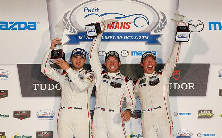 Tandy's historic Petit Le Mans victory